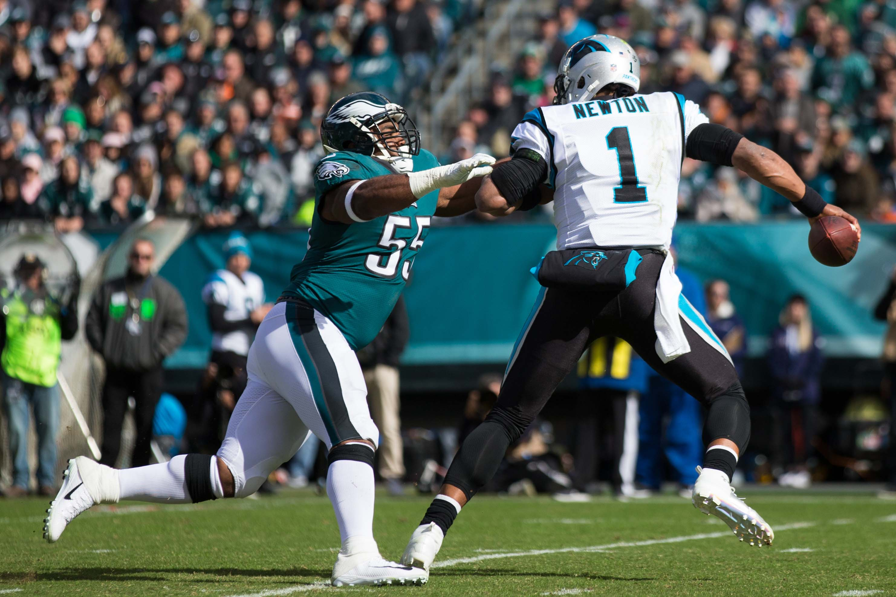 68ac265f Eagles vs. Panthers Final Score: Philadelphia blows big lead to lose ...