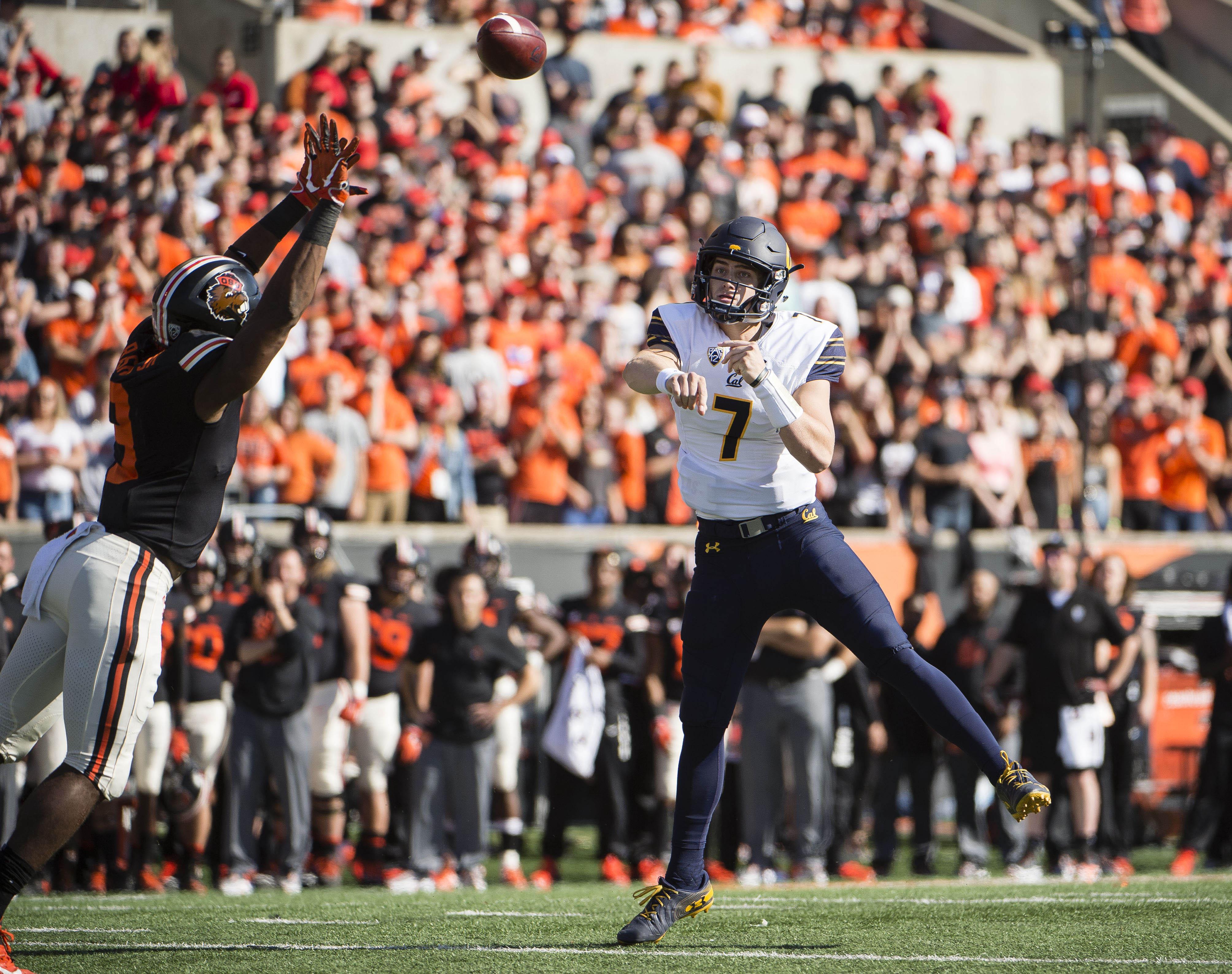 NCAA Football: California at Oregon State