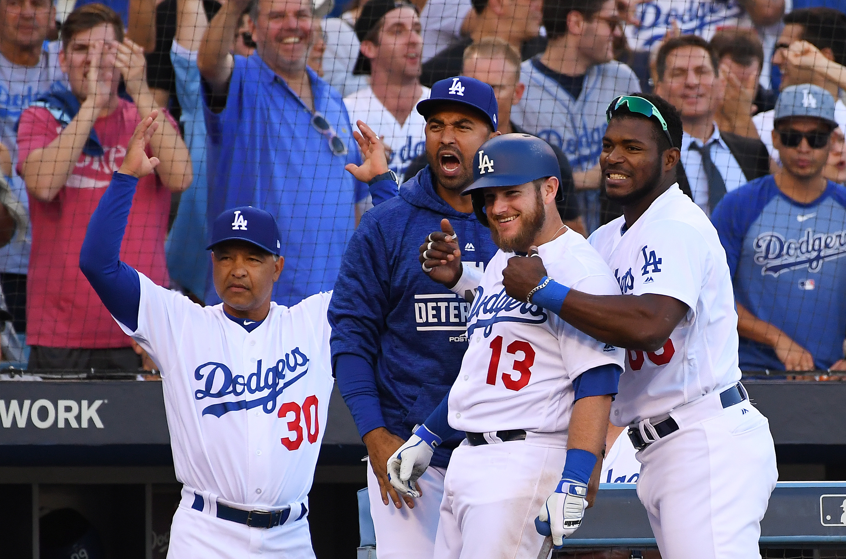 The secret to the Dodgers' success is everybody