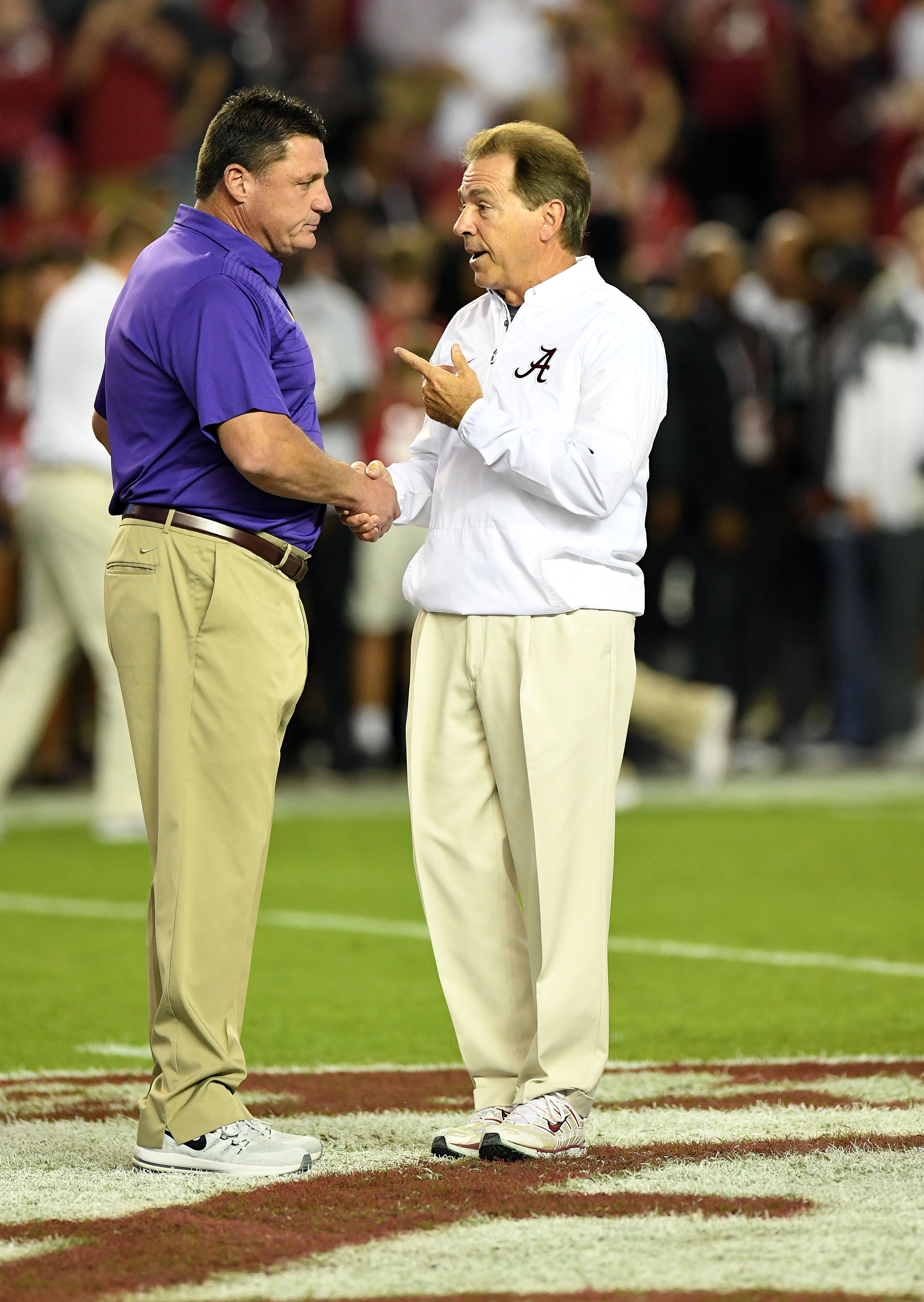 Few expected Alabama-LSU to be *ALABAMA-LSU* in 2018, yet here we are
