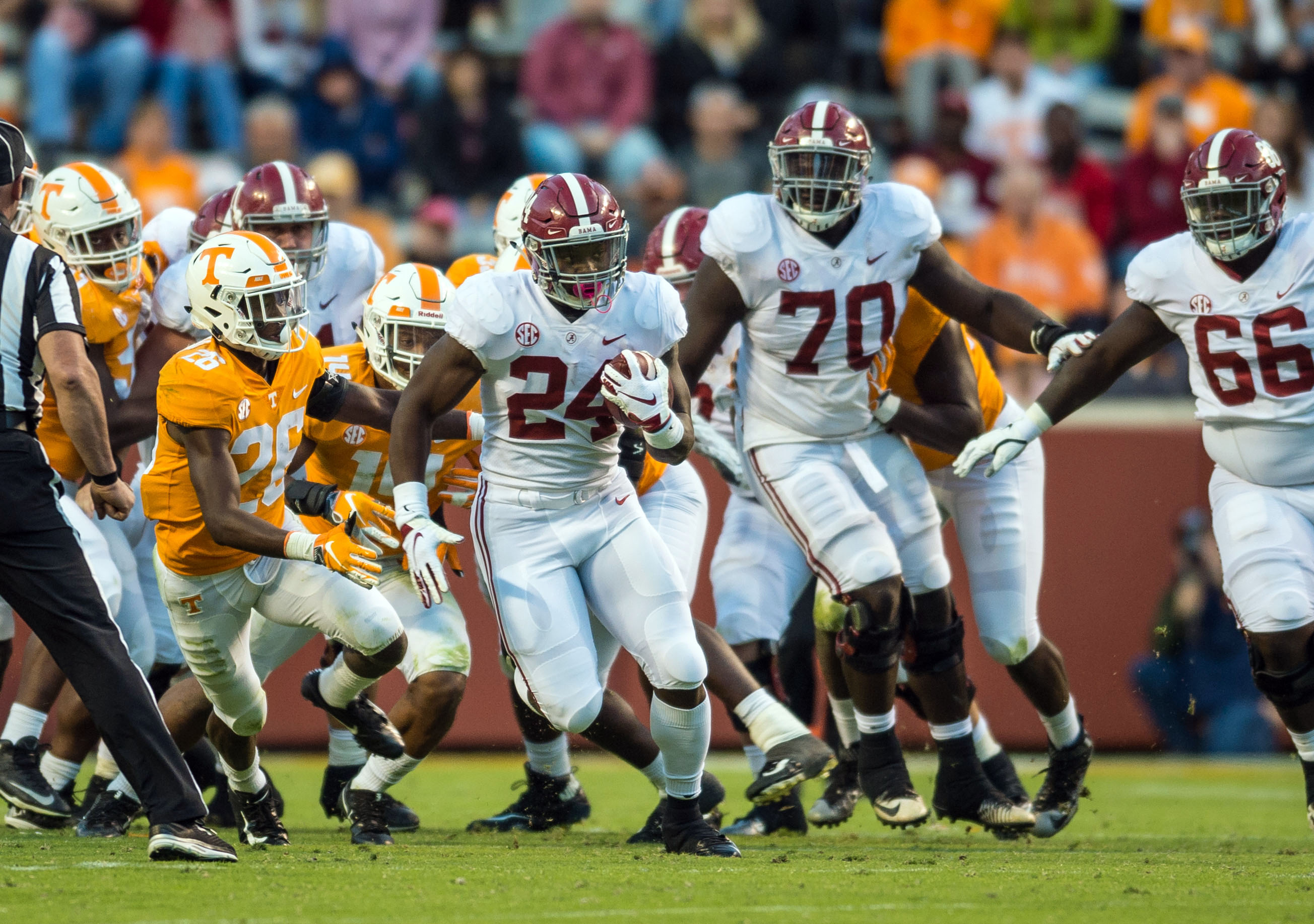 130-team S&P+ rankings: Bama's 1st, Clemson's 2nd, and it's chaos after that