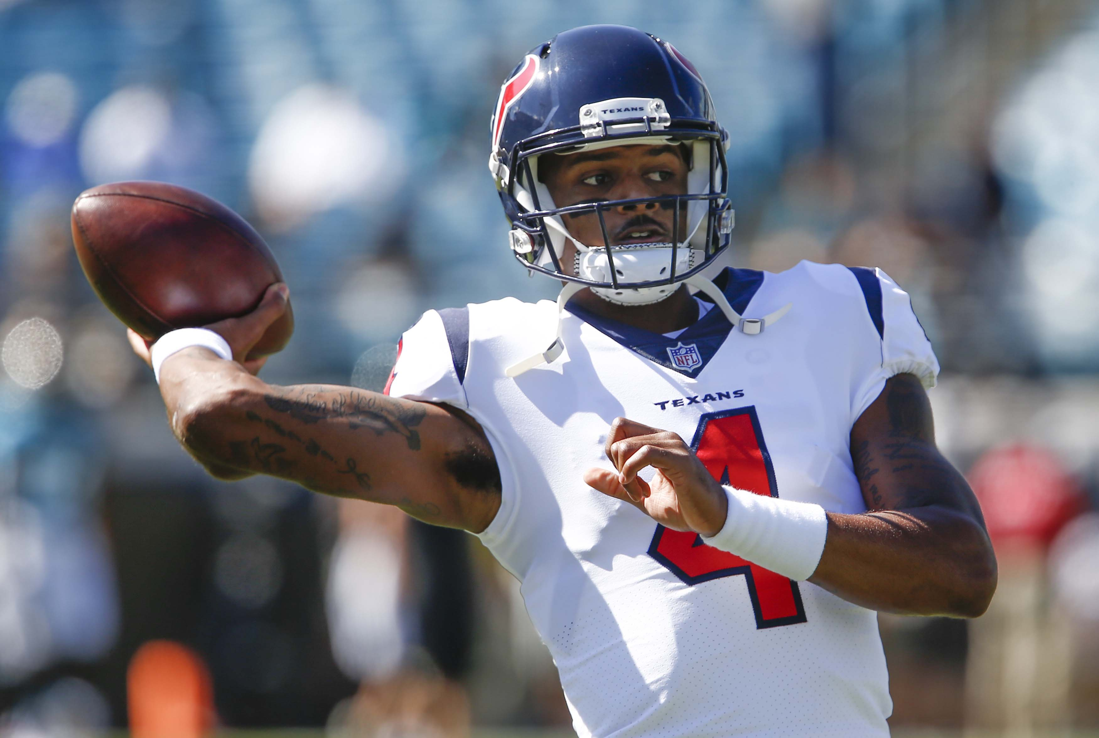 Deshaun Watson was too injured to get on a plane, but fine to face the Jaguars defense