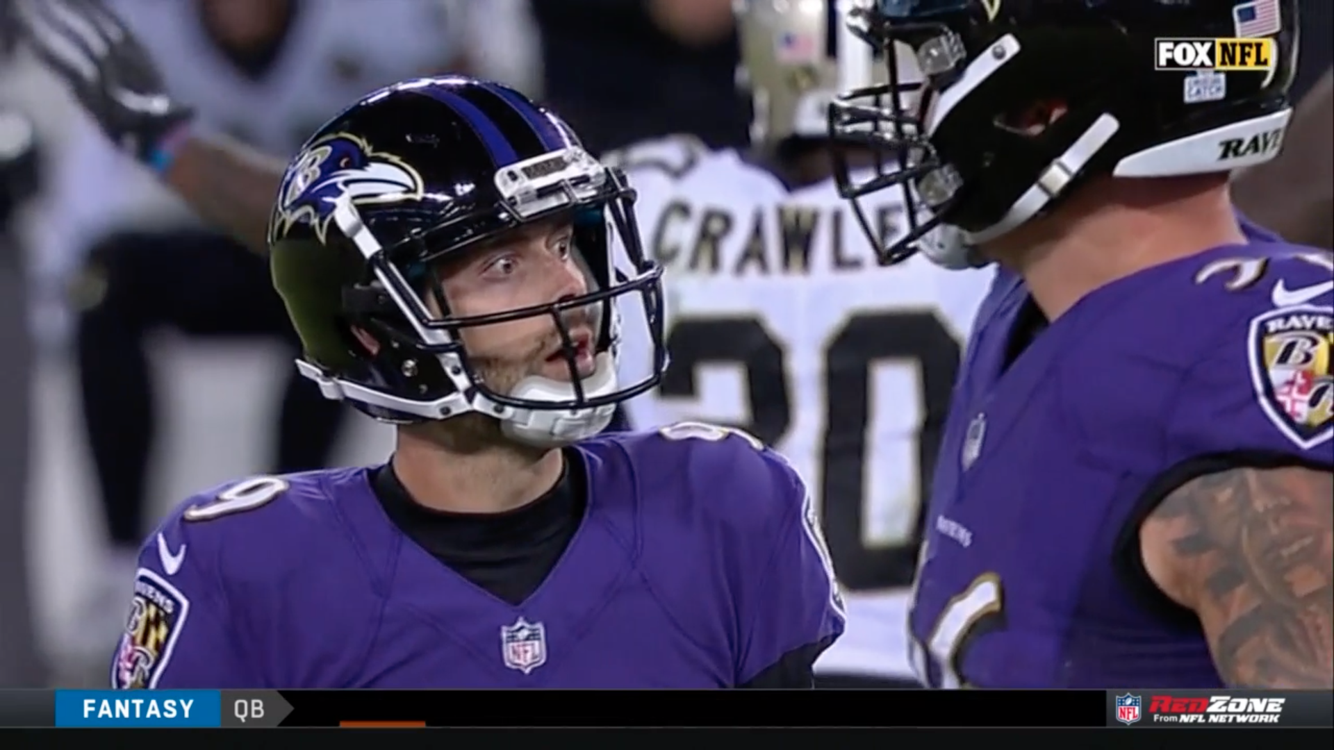 Justin Tucker, the NFL's most accurate kicker of all time, missed a game-tying PAT vs. the Saints