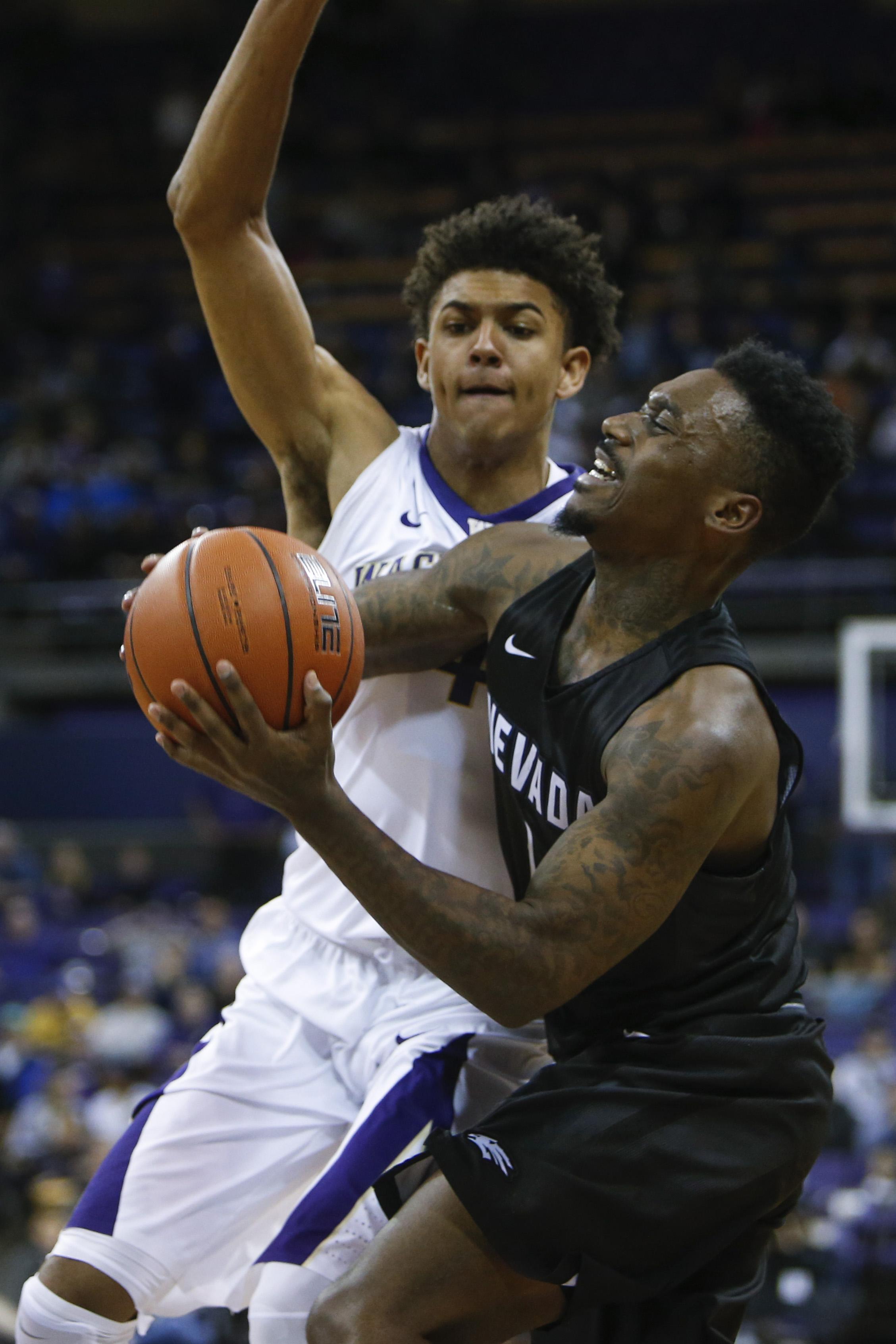 NCAA Basketball: Nevada at Washington