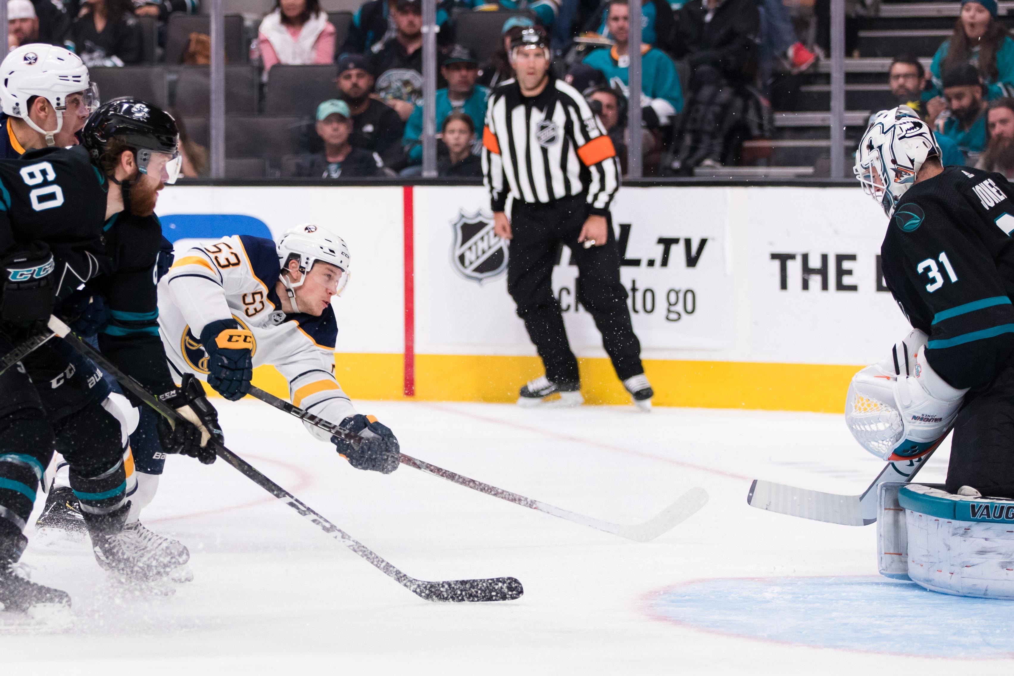 NHL: Buffalo Sabres at San Jose Sharks