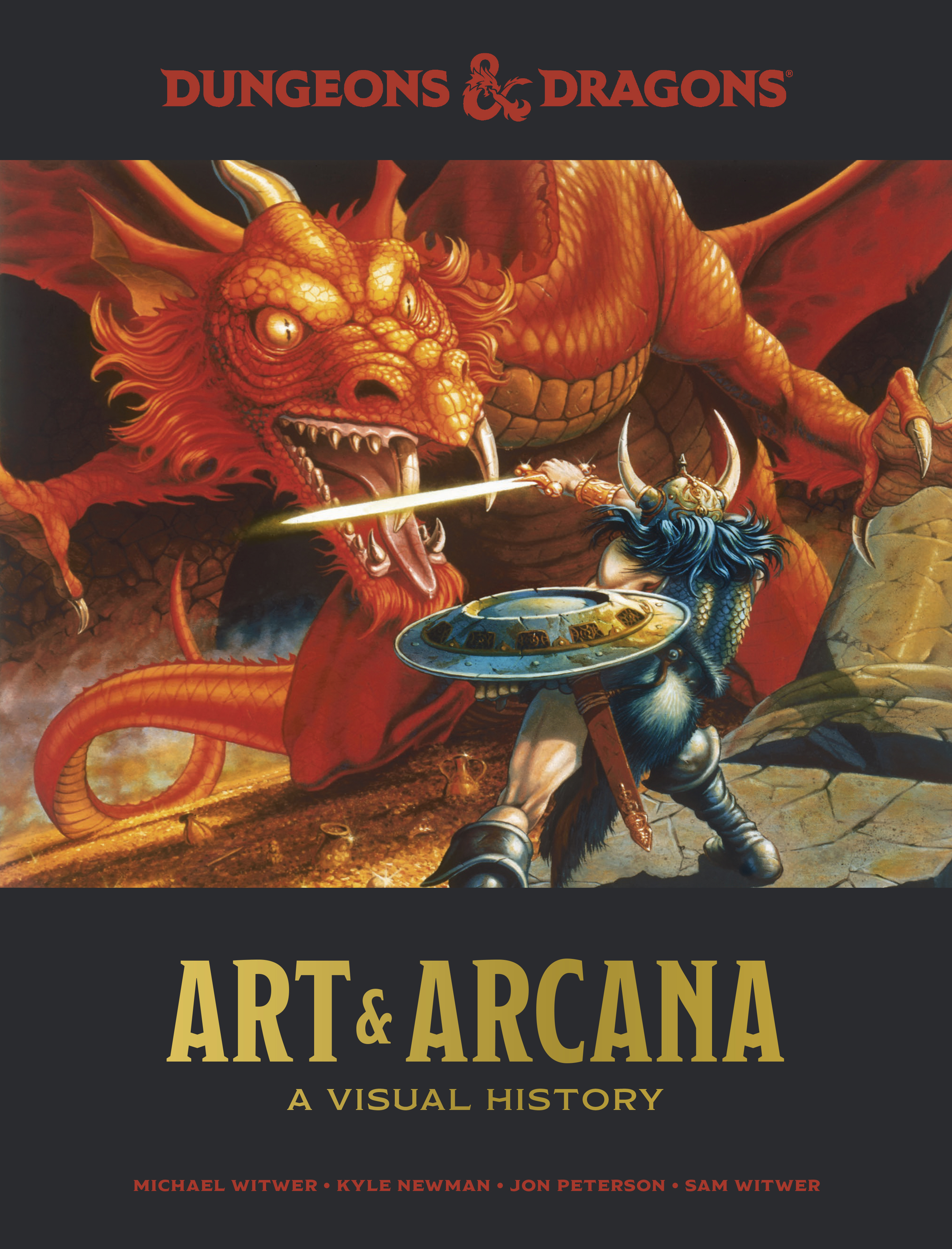 New D&D art book delivers the history of the original role-playing game