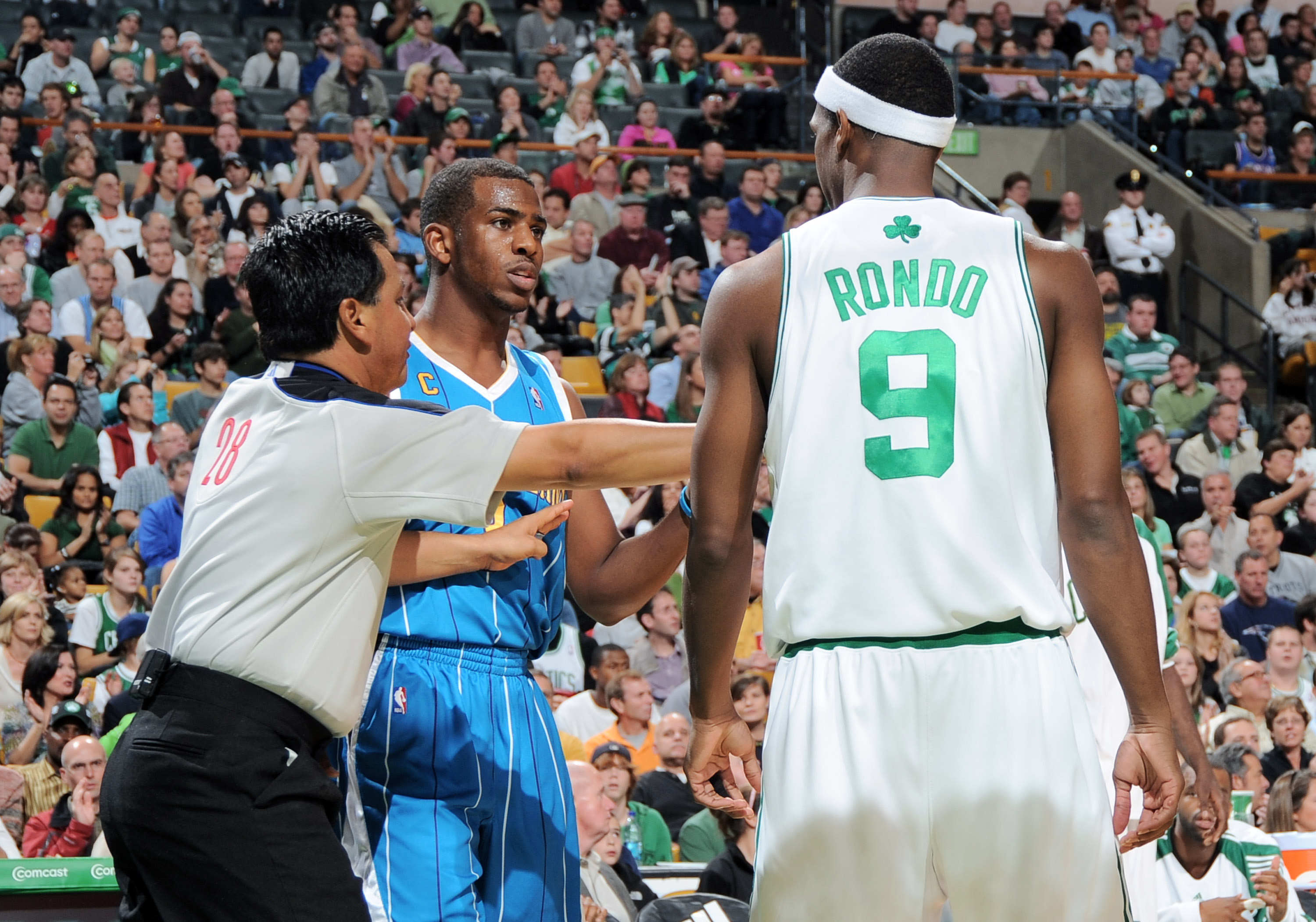 The Chris Paul vs. Rajon Rondo beef has been stewing for 10 years