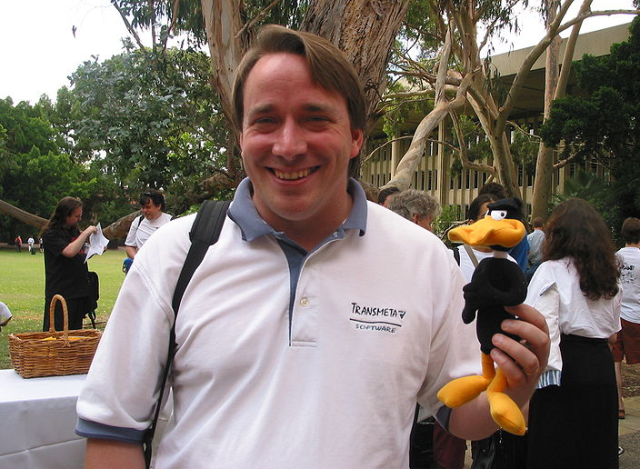 Linus Torvalds Wikimedia