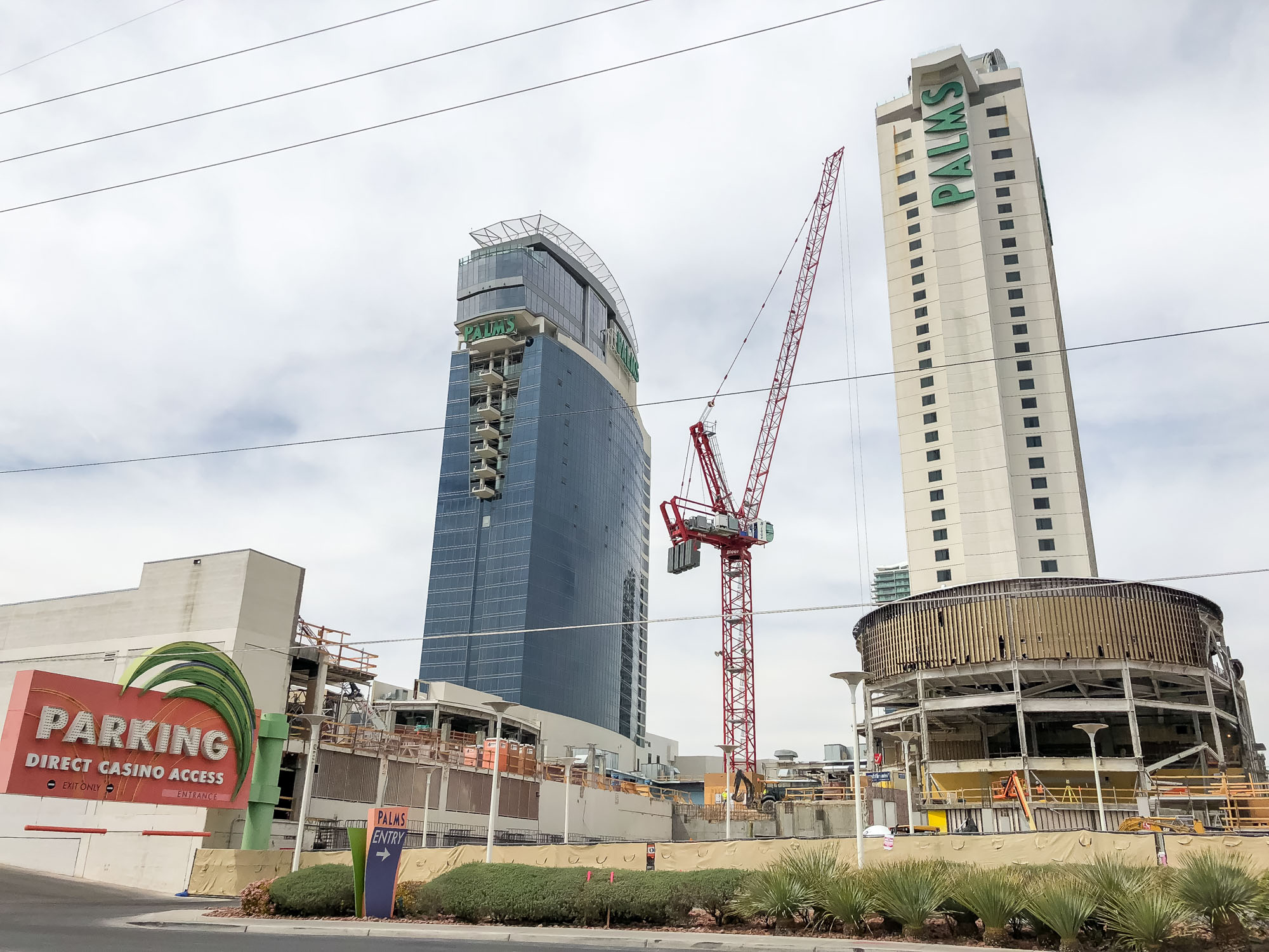 Construction at the Palms