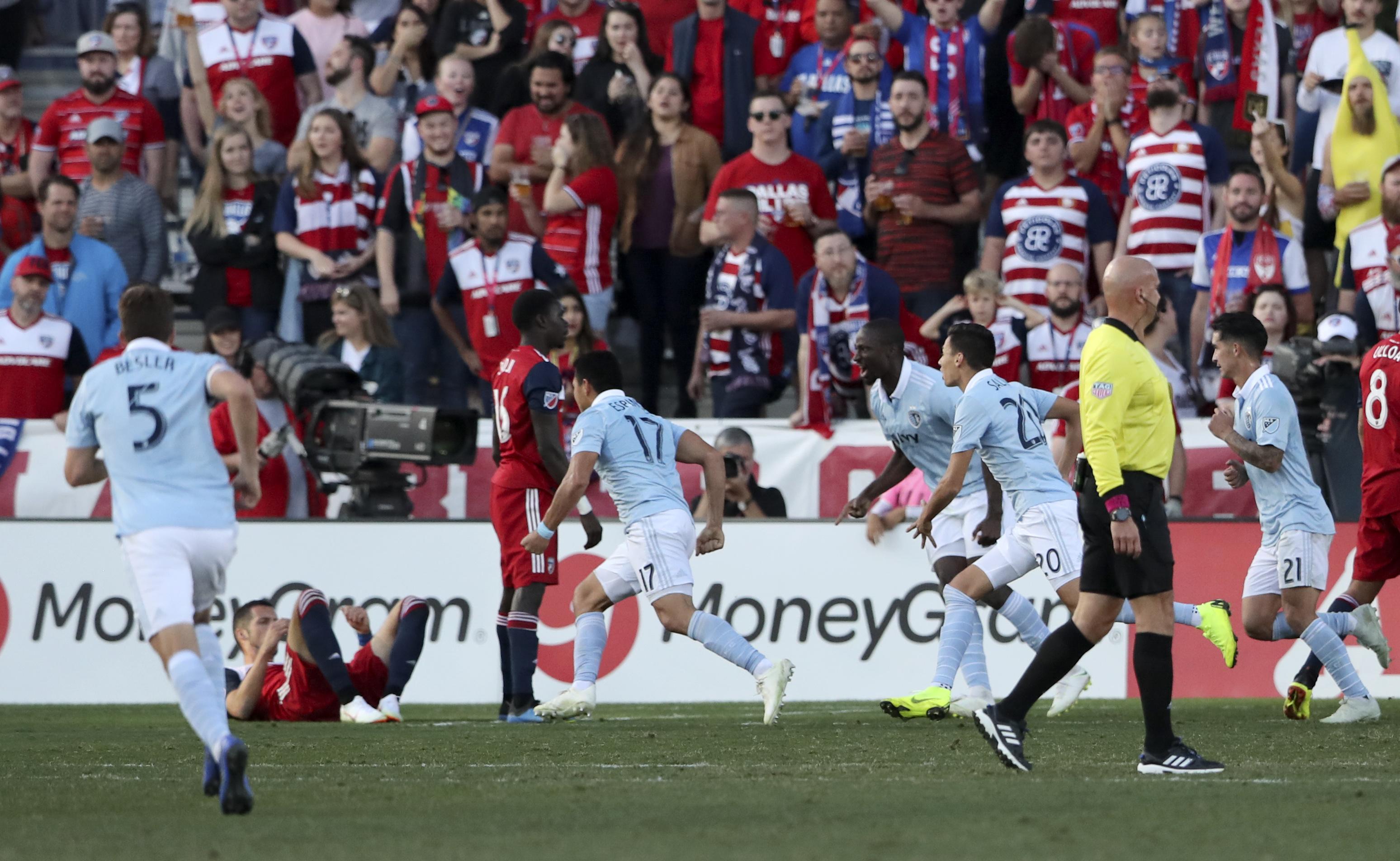 MLS: Sporting KC at FC Dallas