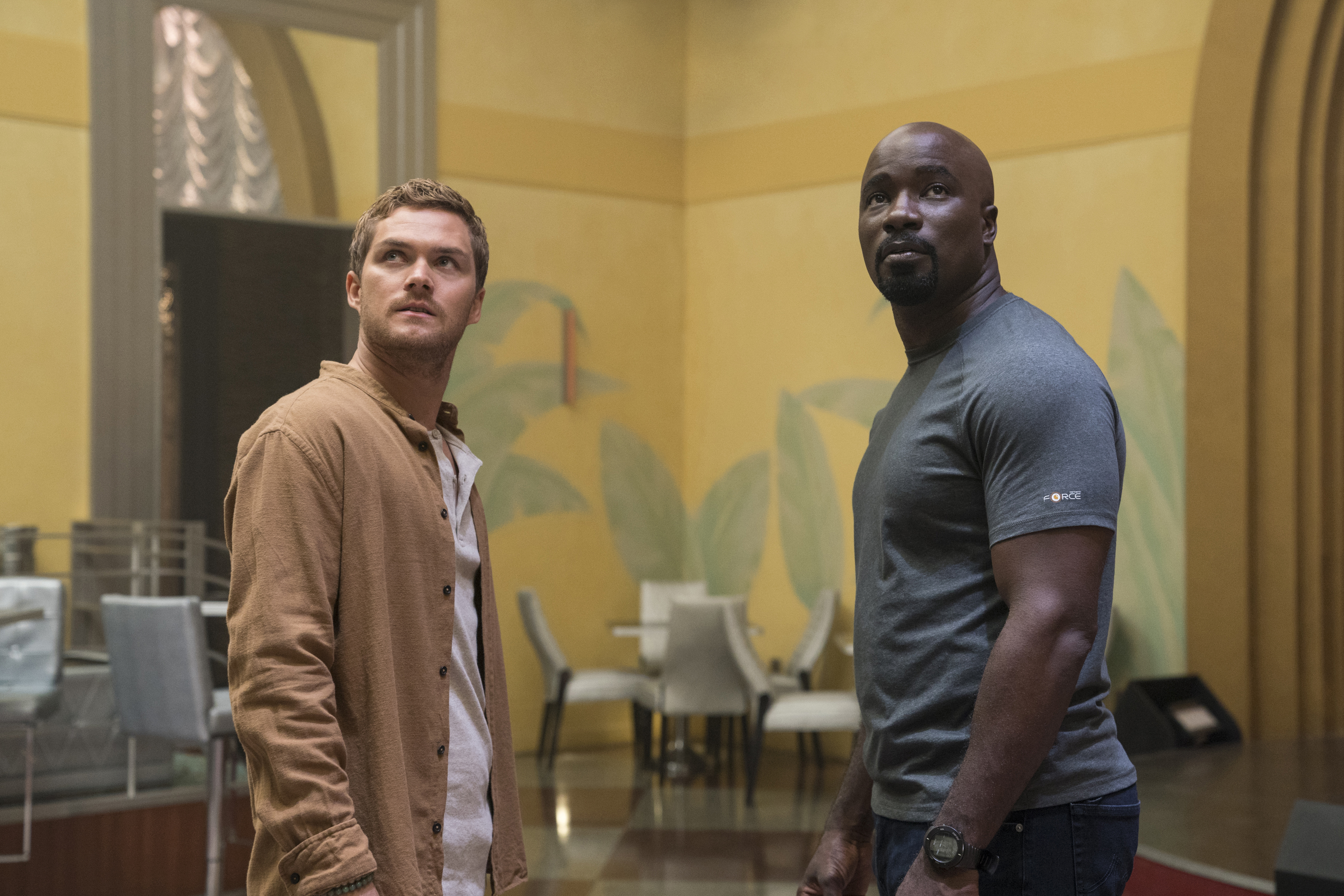 Danny Rand and Luke Cage in Luke Cage season two.