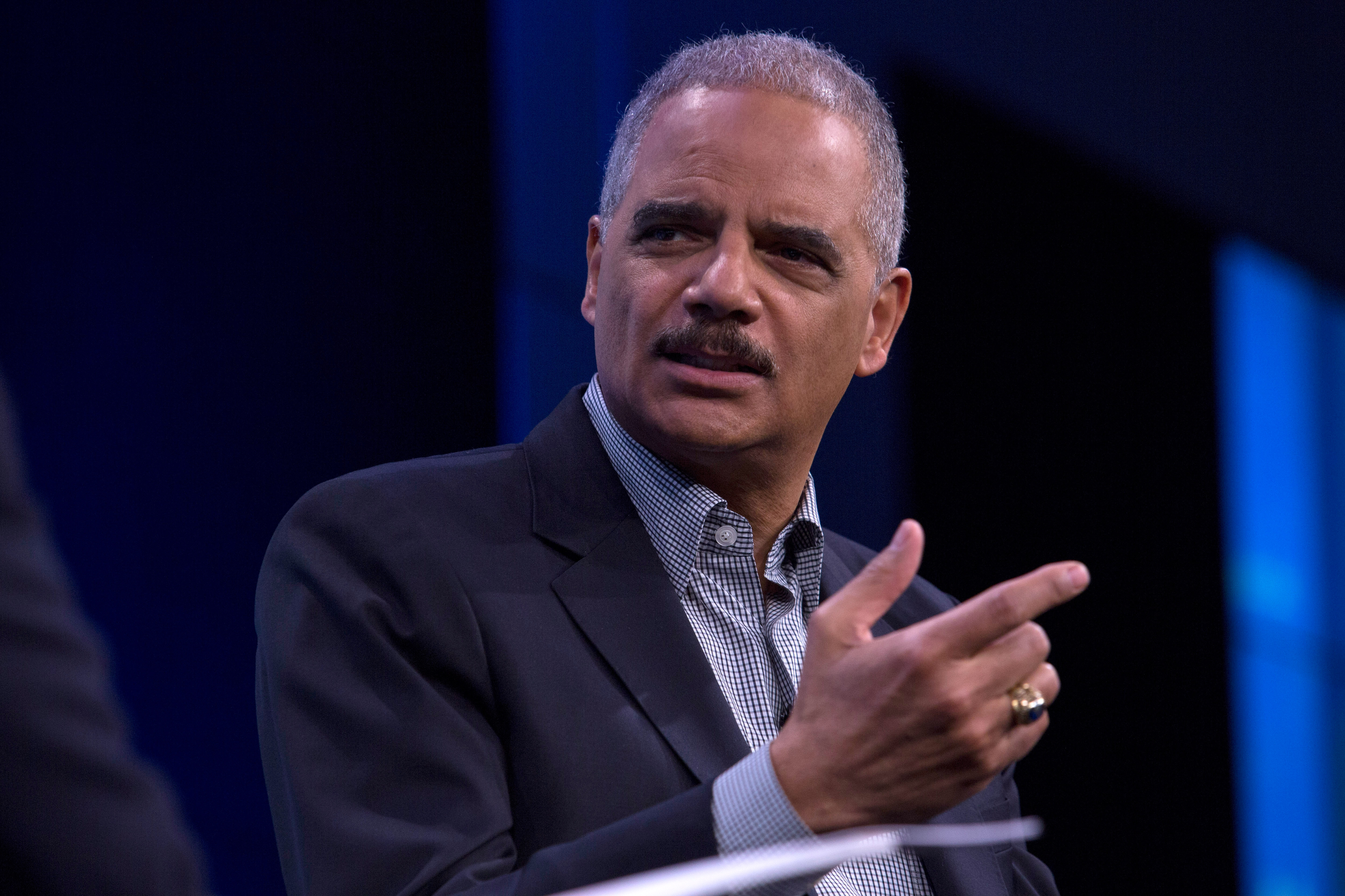 Eric Holder led the Justice Department during its investigation into the Ferguson, Missouri, Police Department.