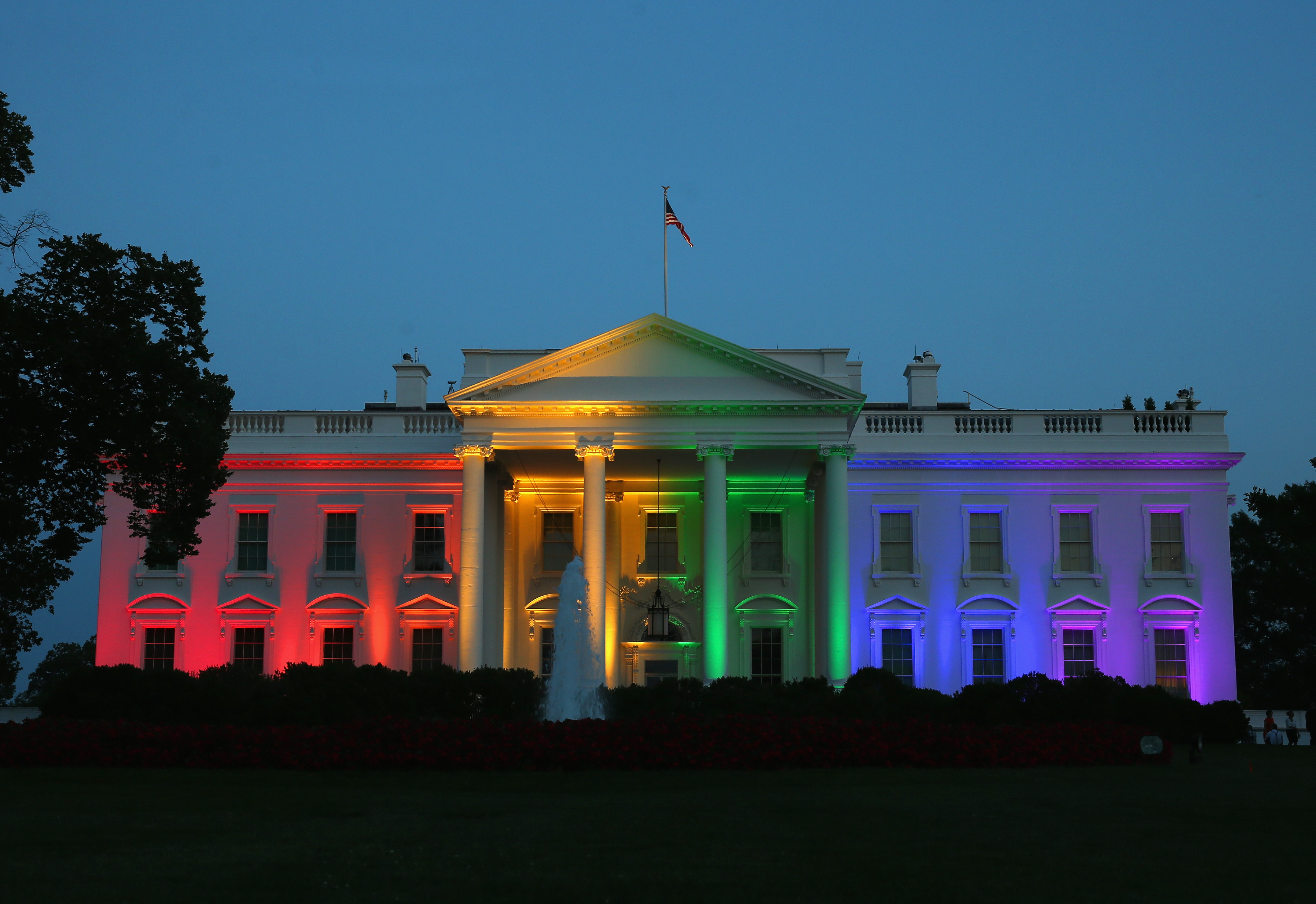 The White House celebrates the Supreme Court's marriage equality decision.