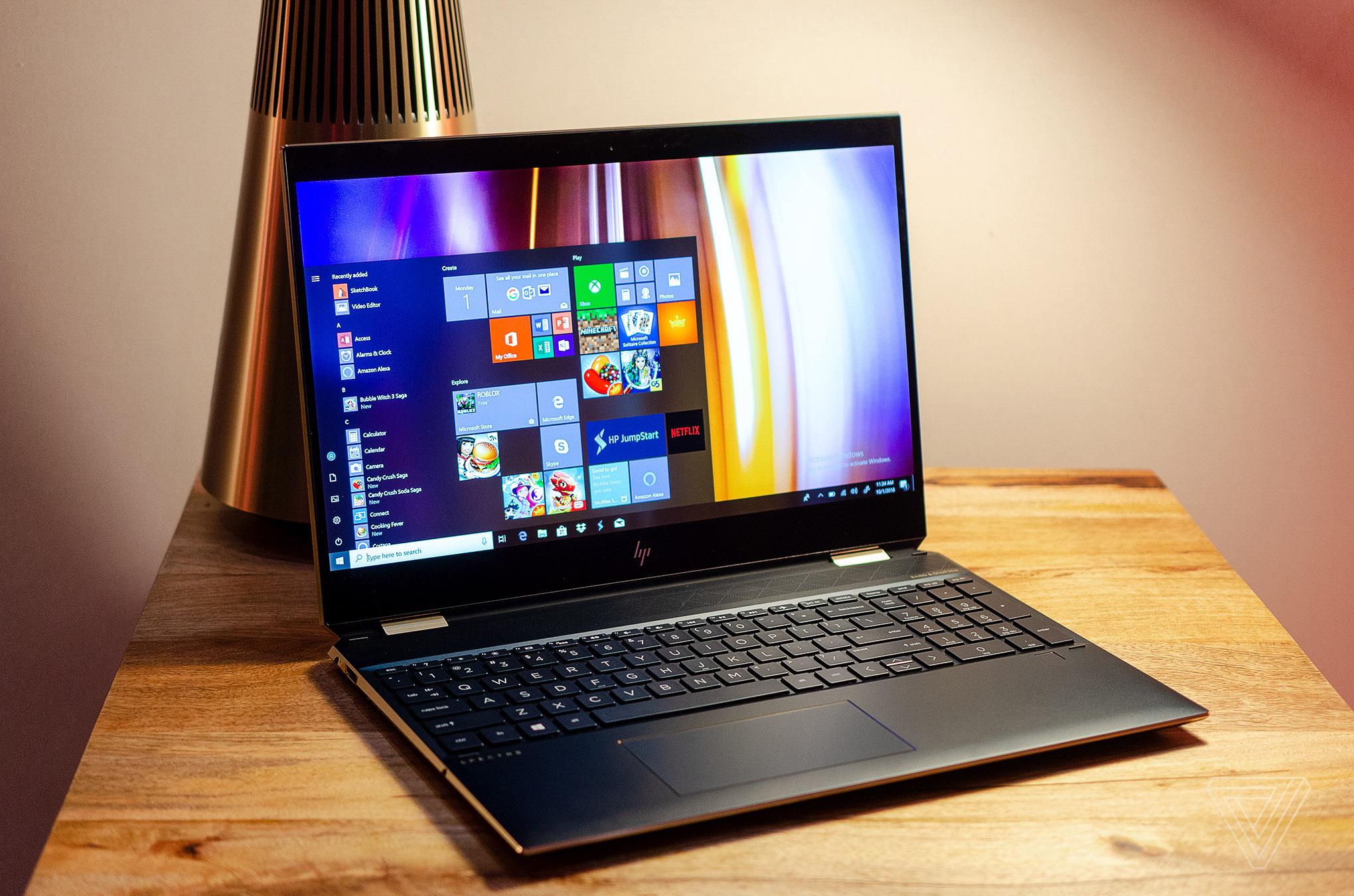 HP's latest Spectre x360 has a new angular design and 22 5 hours of