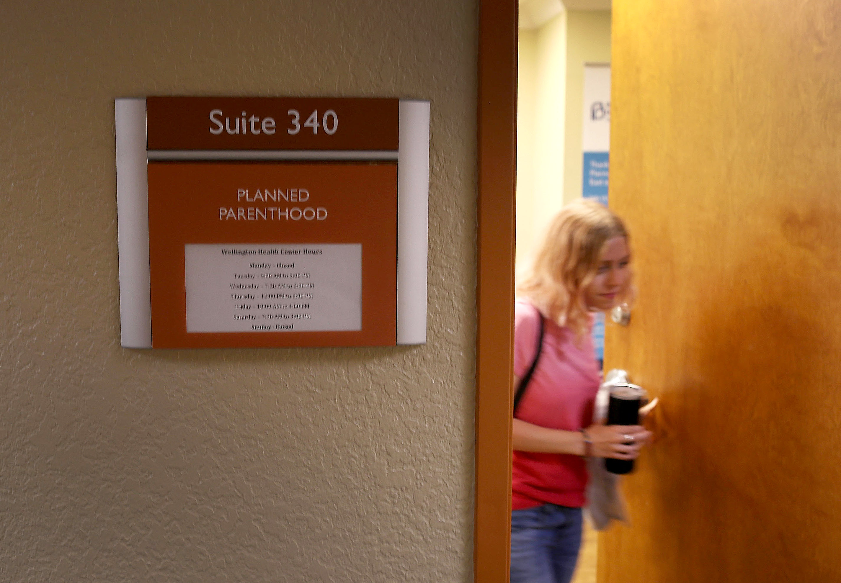A Planned Parenthood office.