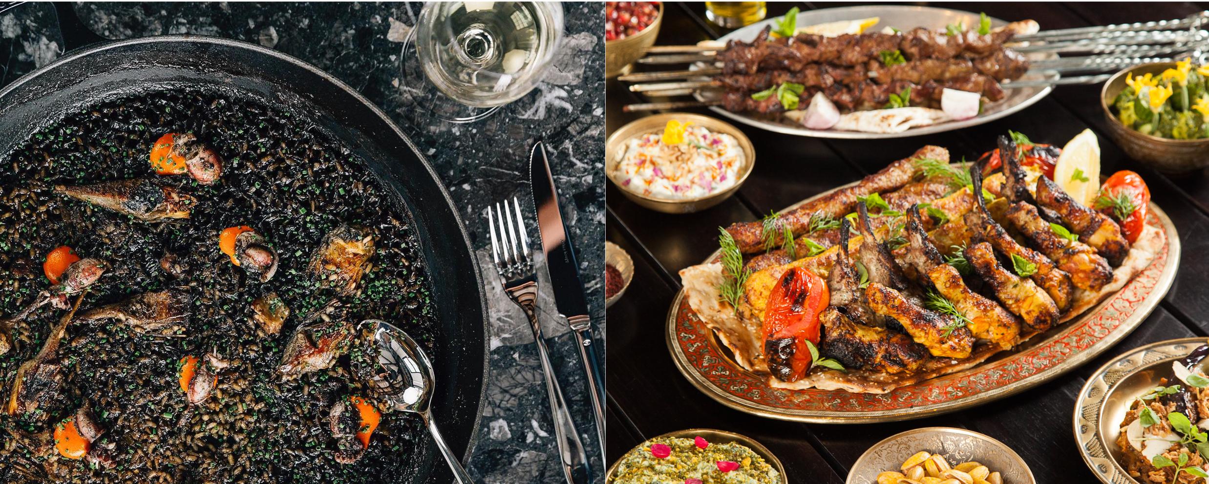 Coal Drops Yard King's Cross restaurant Barrafina and Soho restaurant Berenjak from JKS Restaurants did battle on London restaurant Instagram with Michelin star restaurant Bibendum