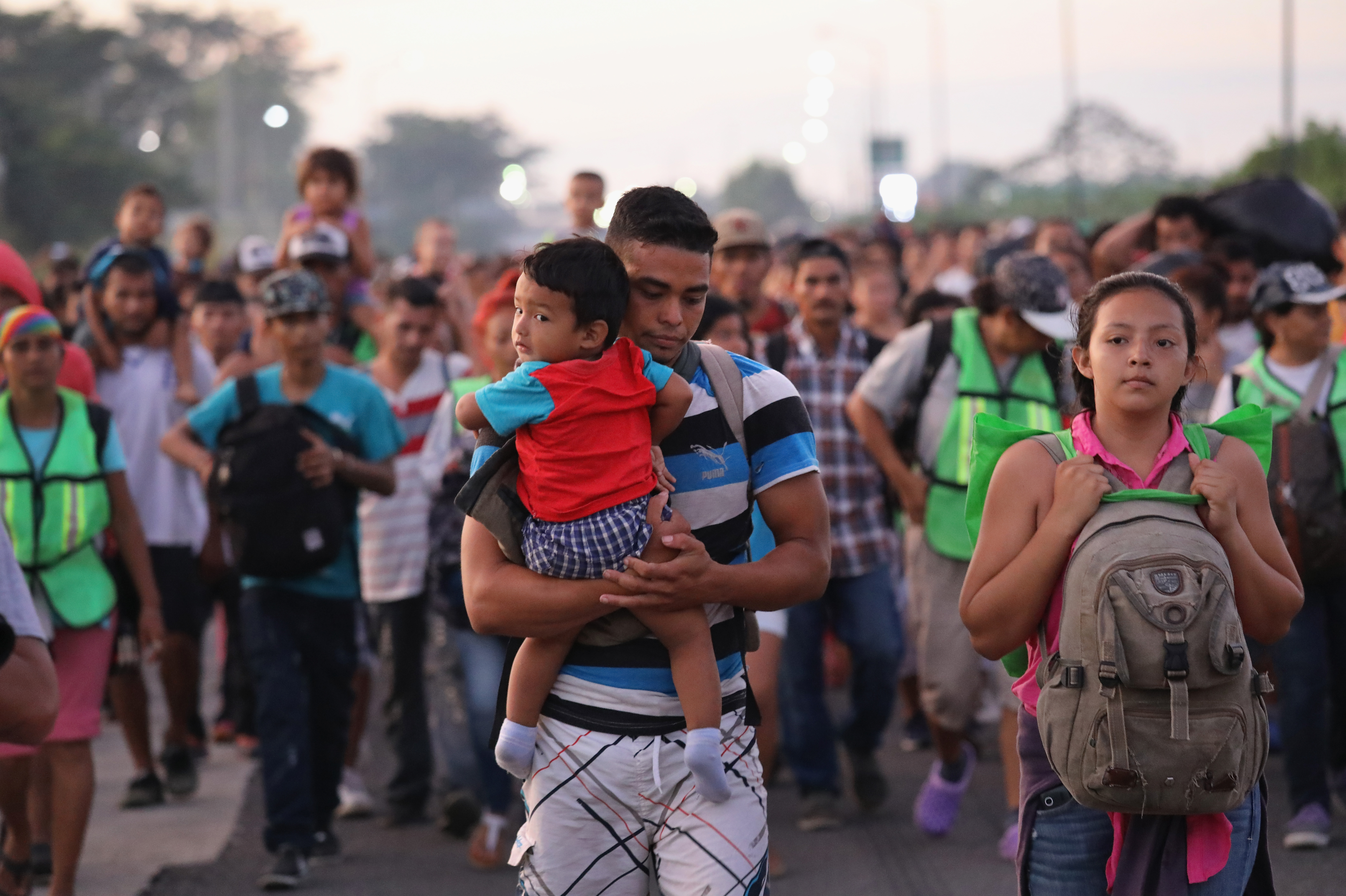 The migrant caravan, explained