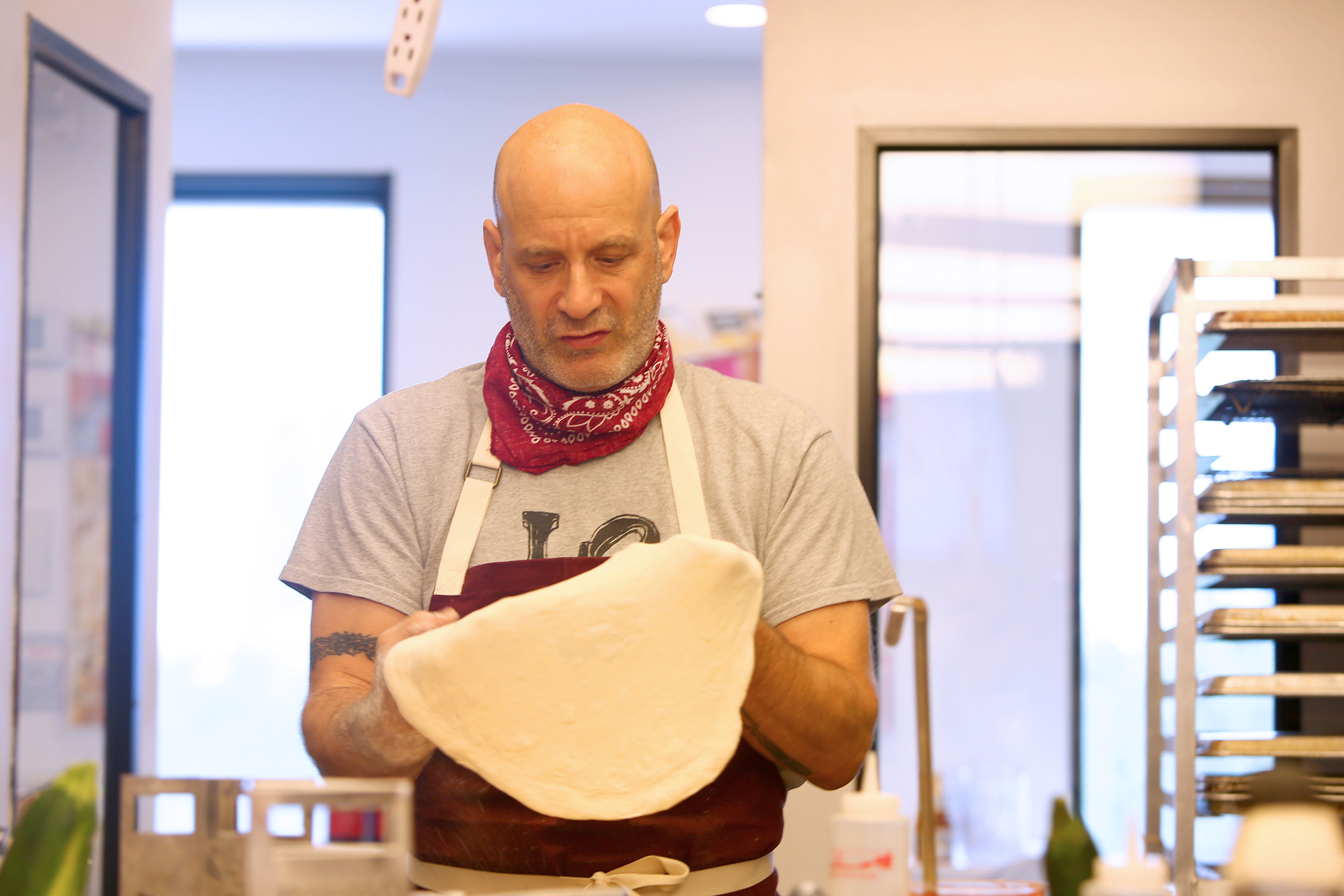 Food Network & Cooking Channel New York City Wine & Food Festival Presented By Capital One – Pizza Making Master Class with Marc Vetri
