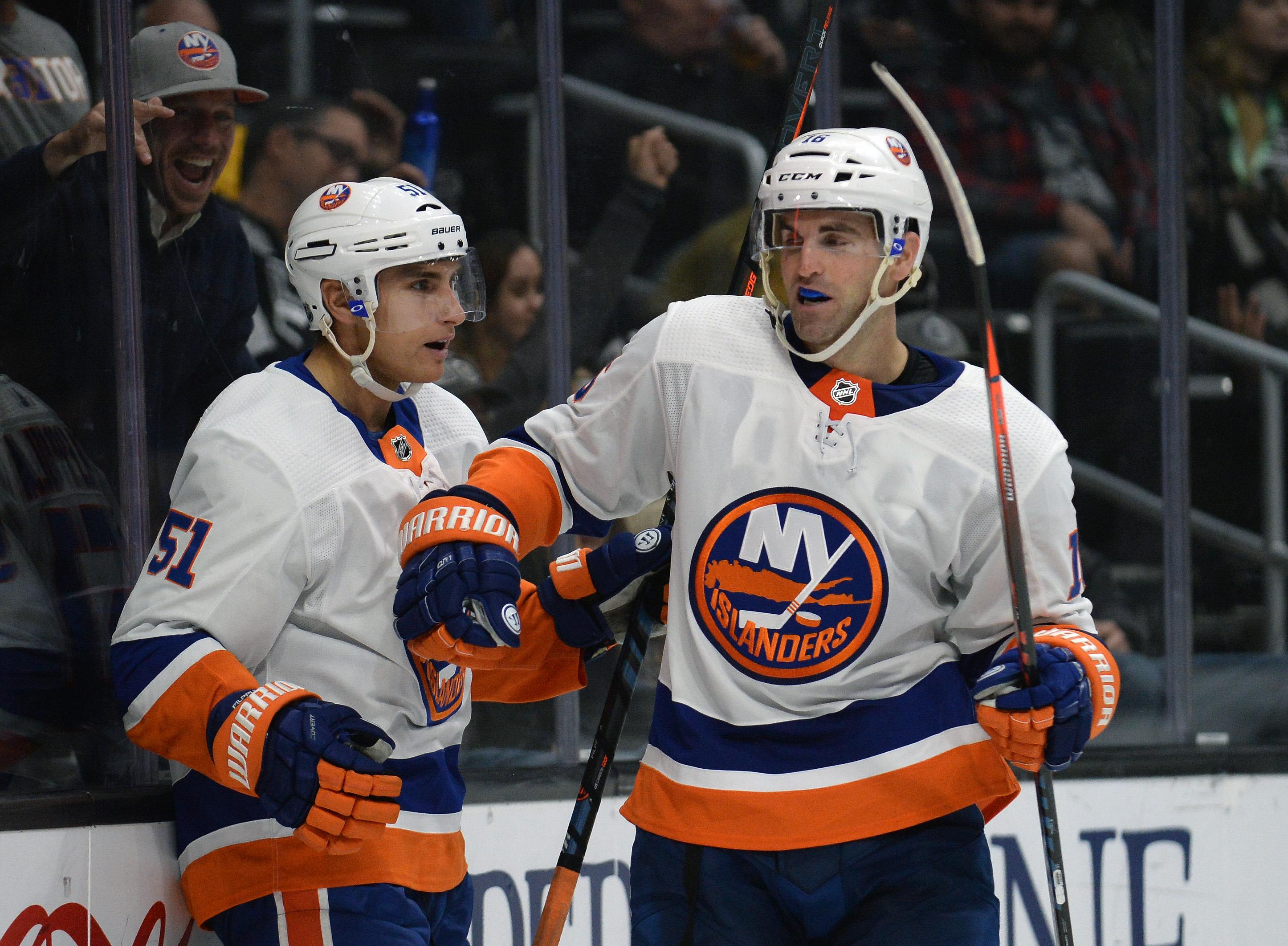 NHL: New York Islanders at Los Angeles Kings