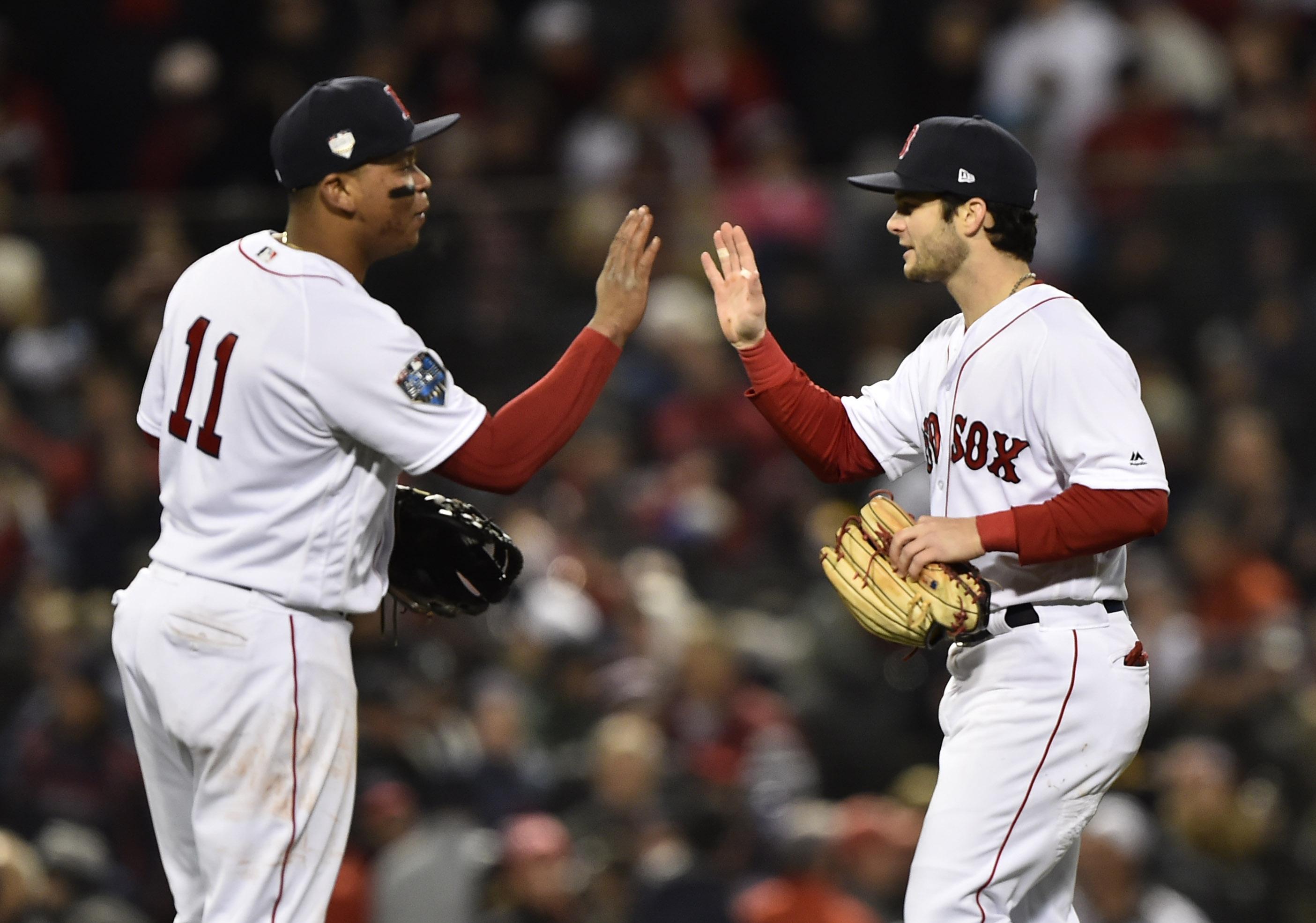 MLB: World Series-Los Angeles Dodgers at Boston Red Sox
