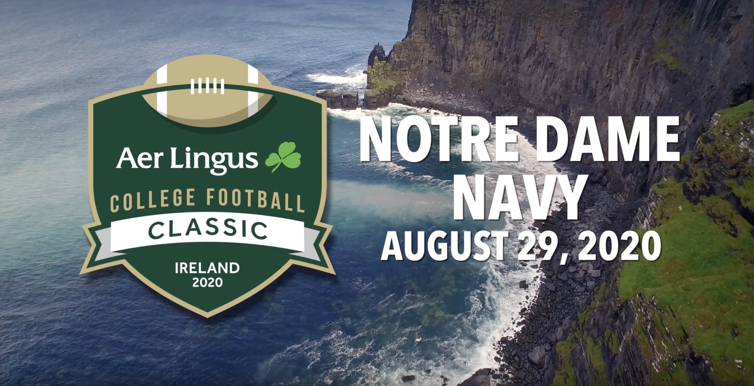 2020 Navy Football Schedule Notre Dame And Navy Will Play In Dublin Ireland In 2020 Inside