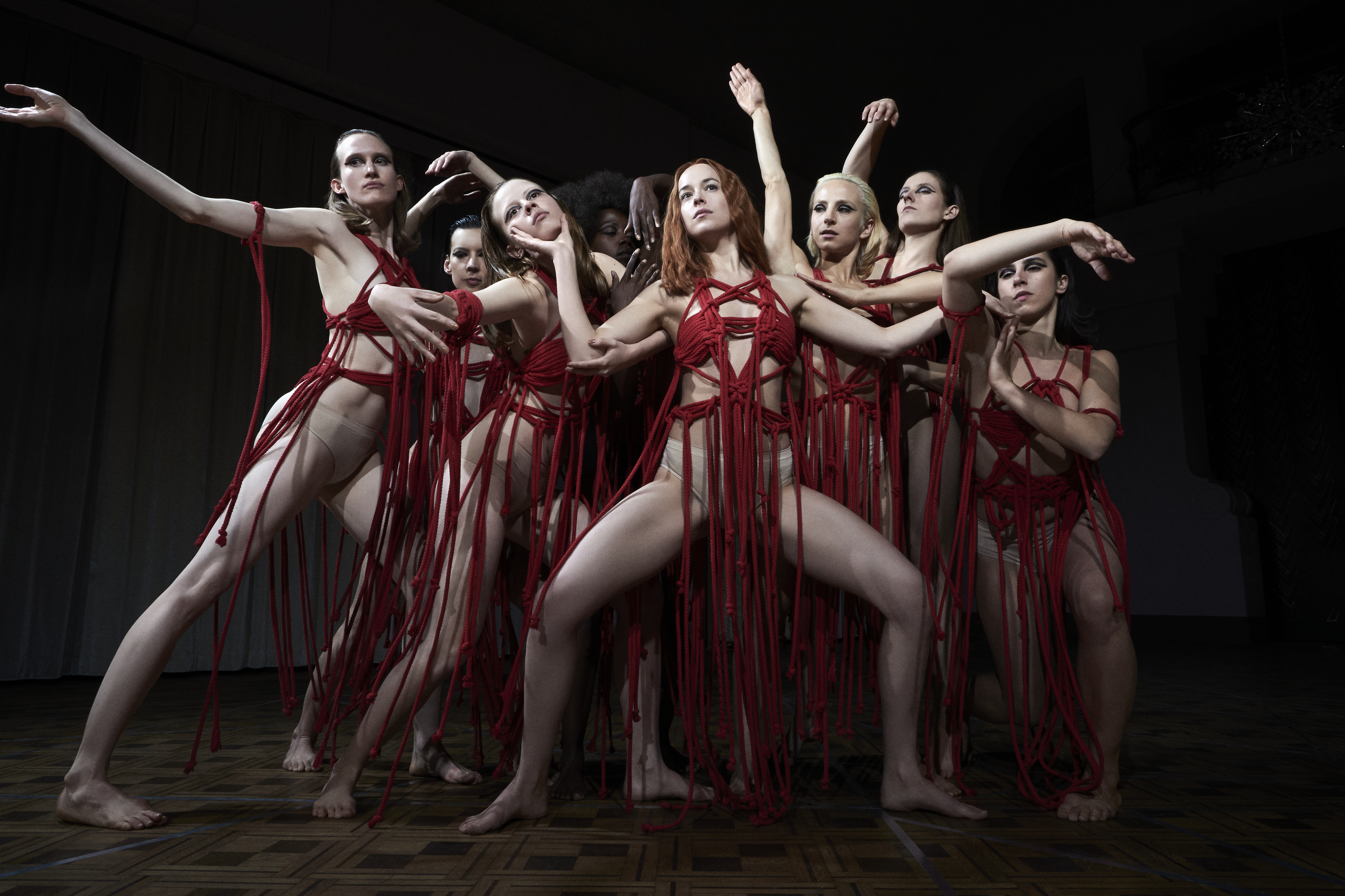 The new Suspiria offers style and suspense — but don't expect any neon pink
