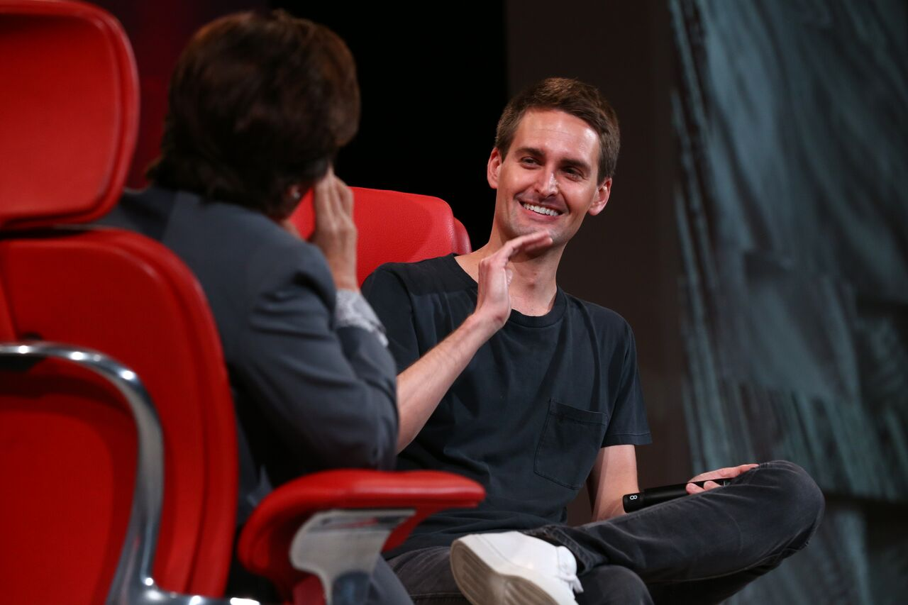 Evan Spiegel, co-founder and CEO of Snapchat maker Snap