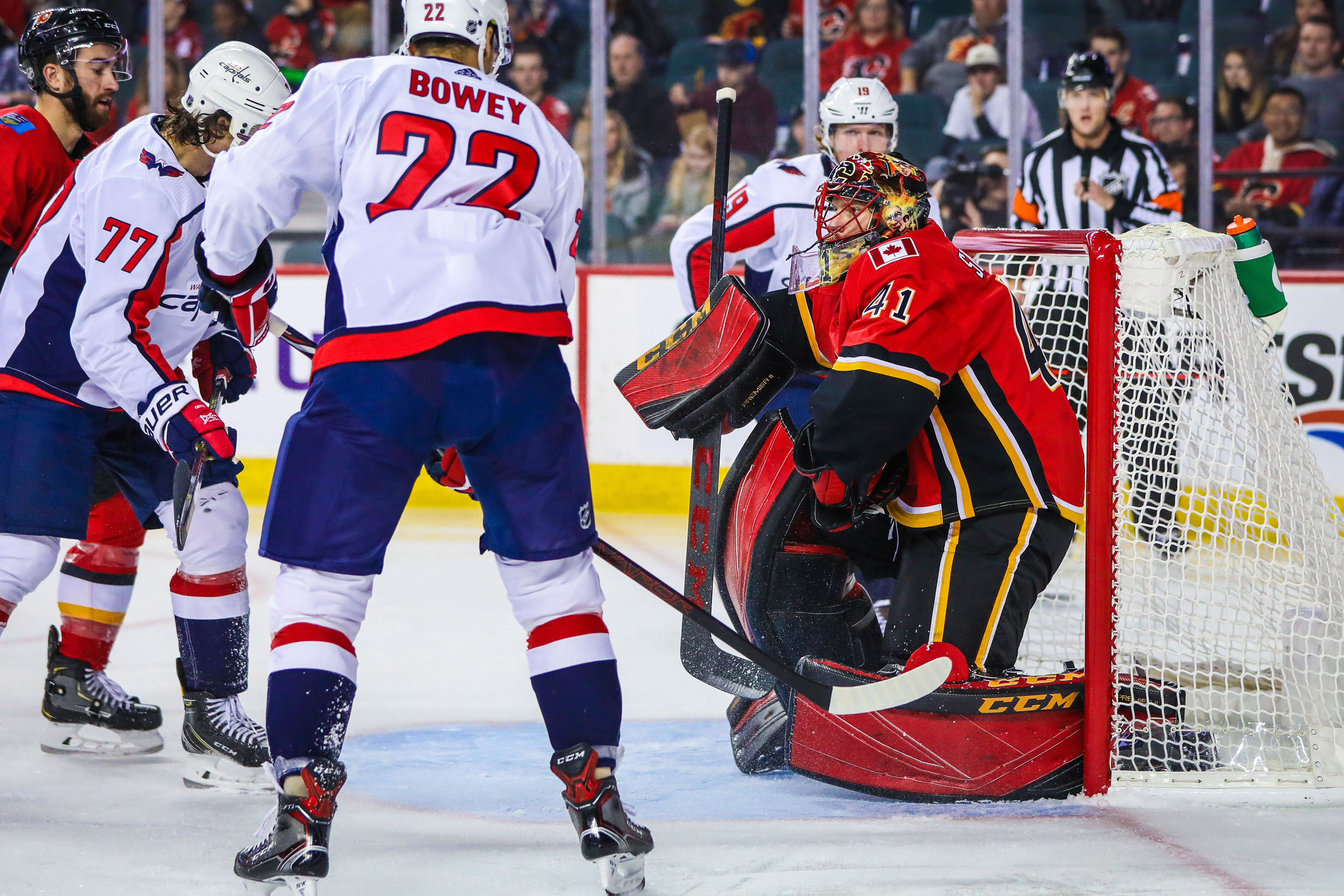 Capitals vs. Flames Recap  Blown Leads Ultimately Don t Cost Caps in 4-3 SO  Victory 70d5a834d454