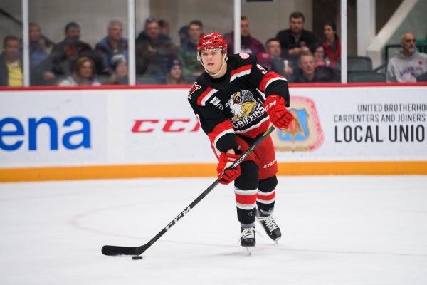 AHL: Griffins Notch First Road Win, Surpass Senators 3-1 - Winging It In Motown