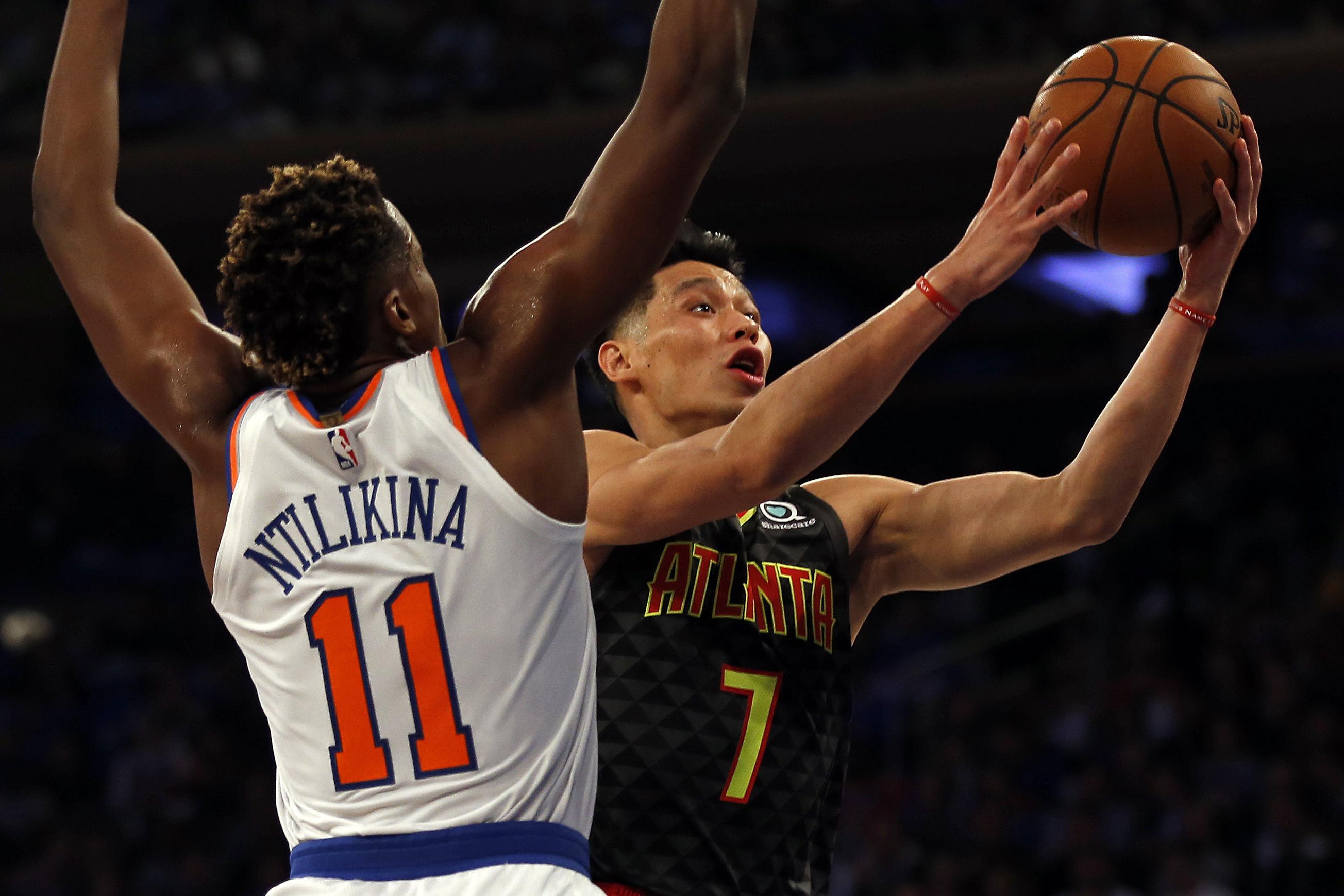 NBA: Atlanta Hawks at New York Knicks