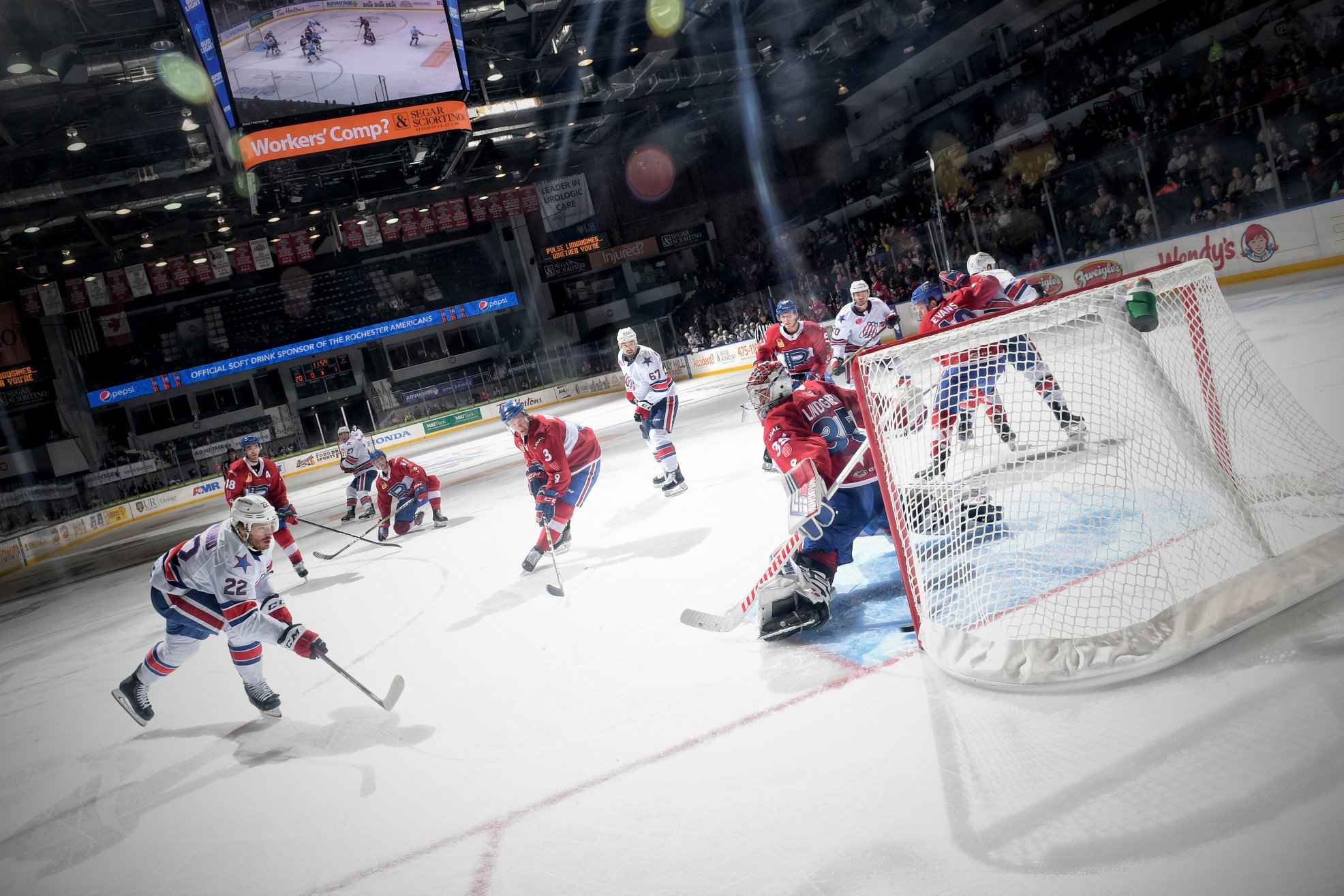 AHL: Rochester Amerks Recap - Fight To Win - Die By The Blade