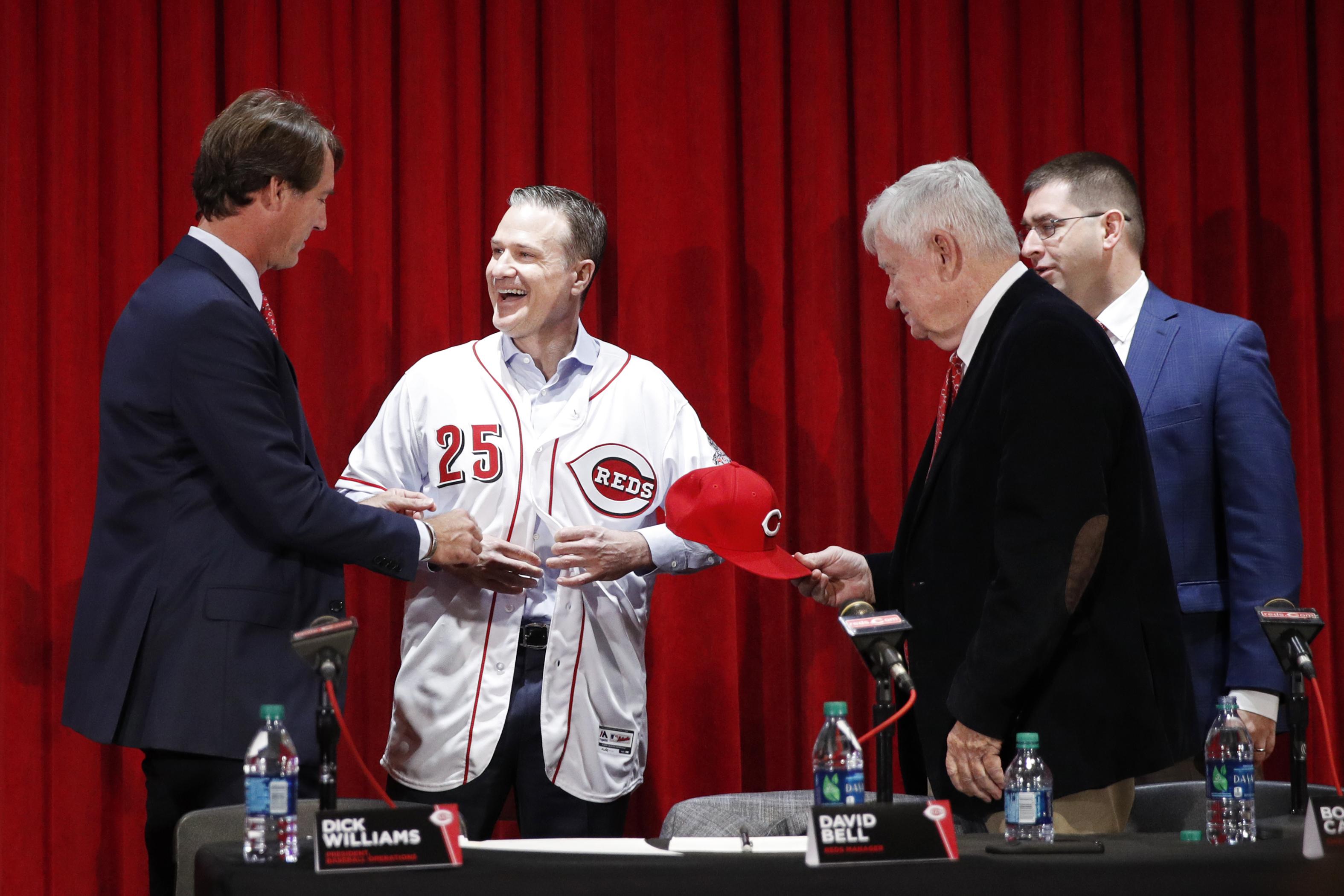 Cincinnati Reds Introduce David Bell