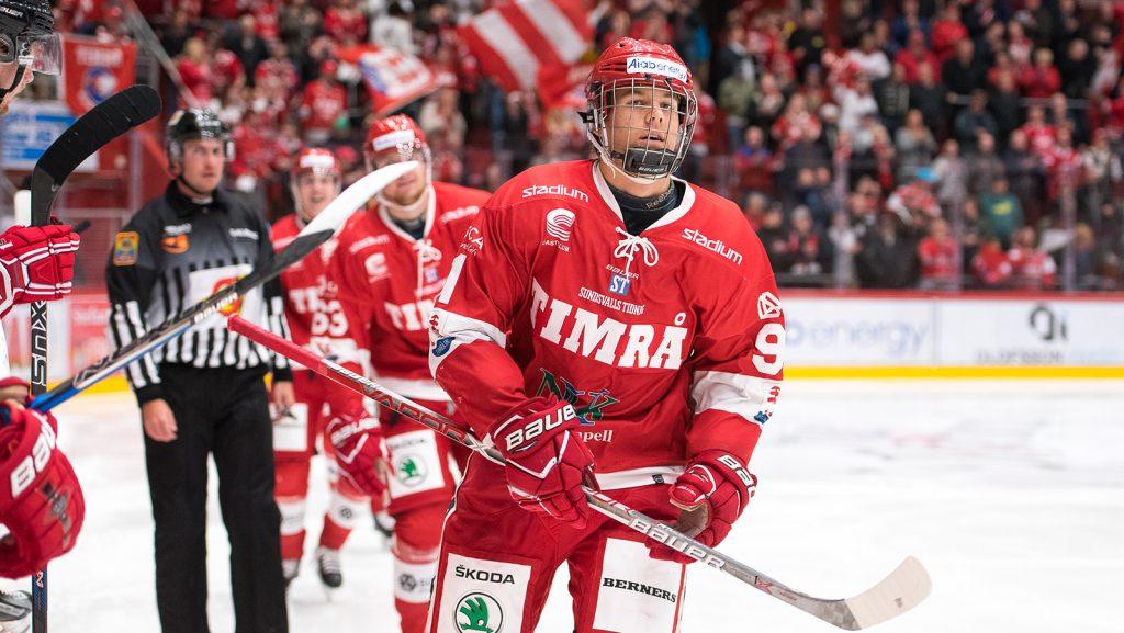 SHL: 2018 Second Round Draftee Filip Hållander Is Impressing Early With SHL Club Timrå IK