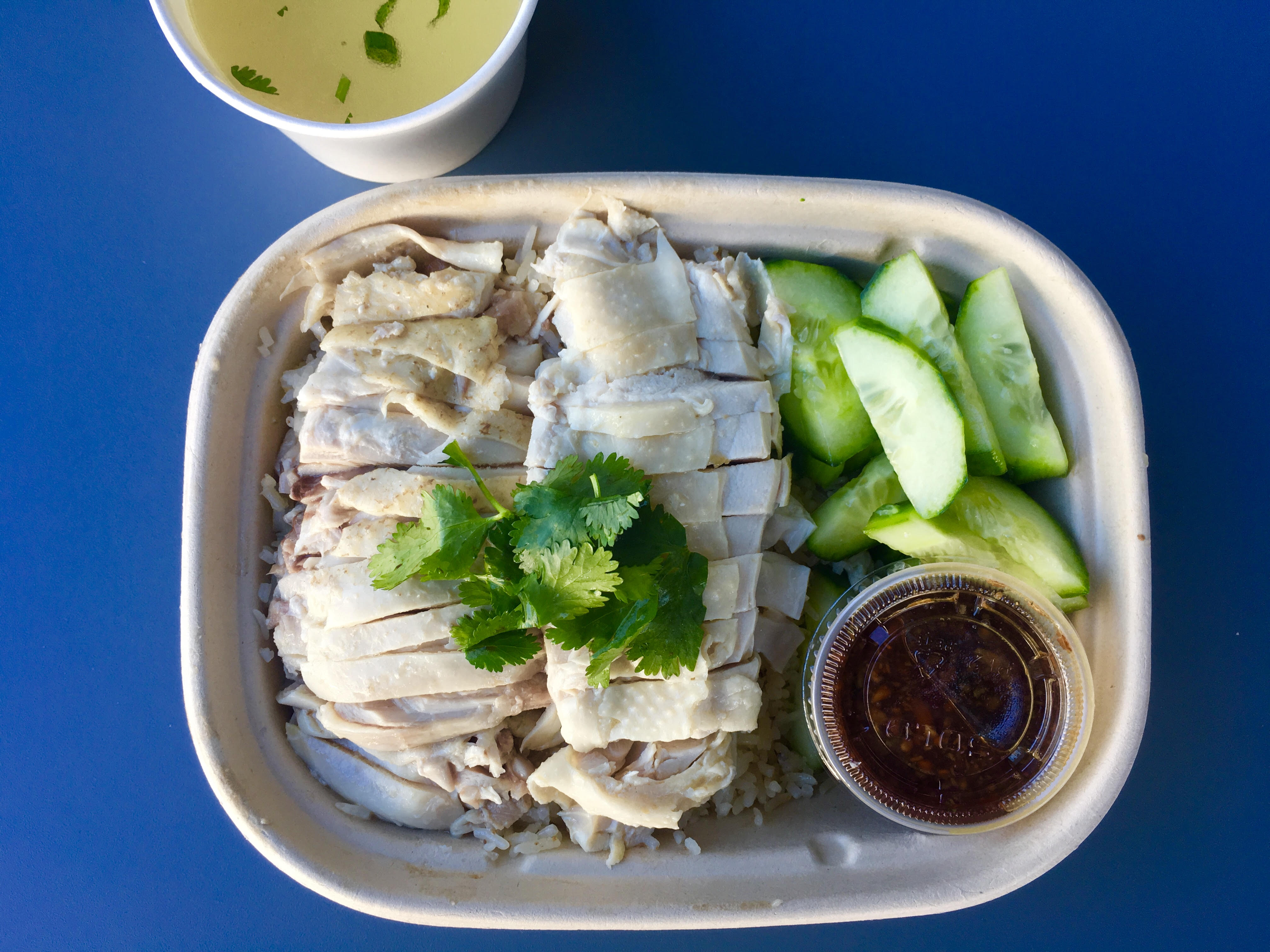 The khao mun gai at Rooster and Rice