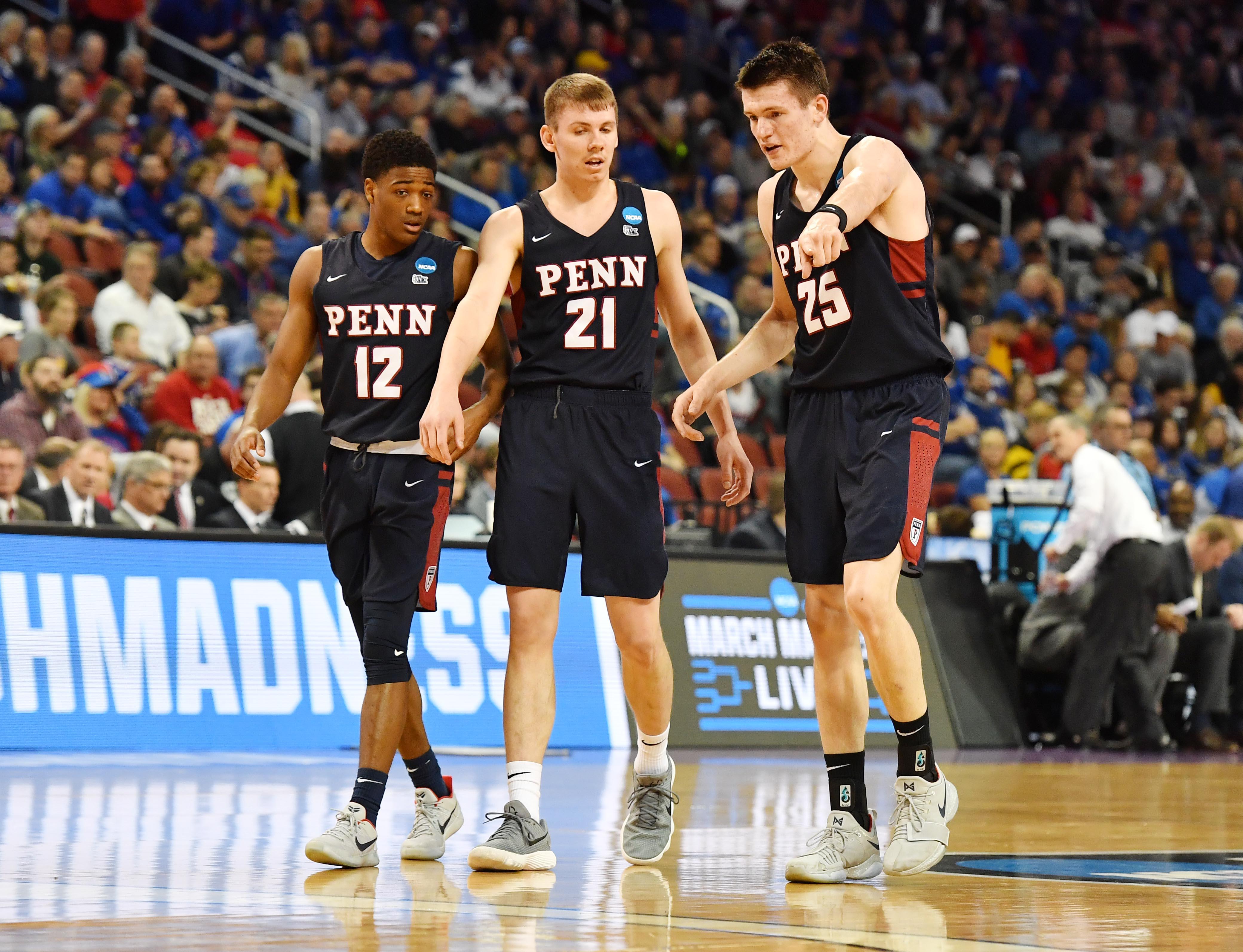NCAA Basketball: NCAA Tournament-First Round-Kansas vs Pennsylvania