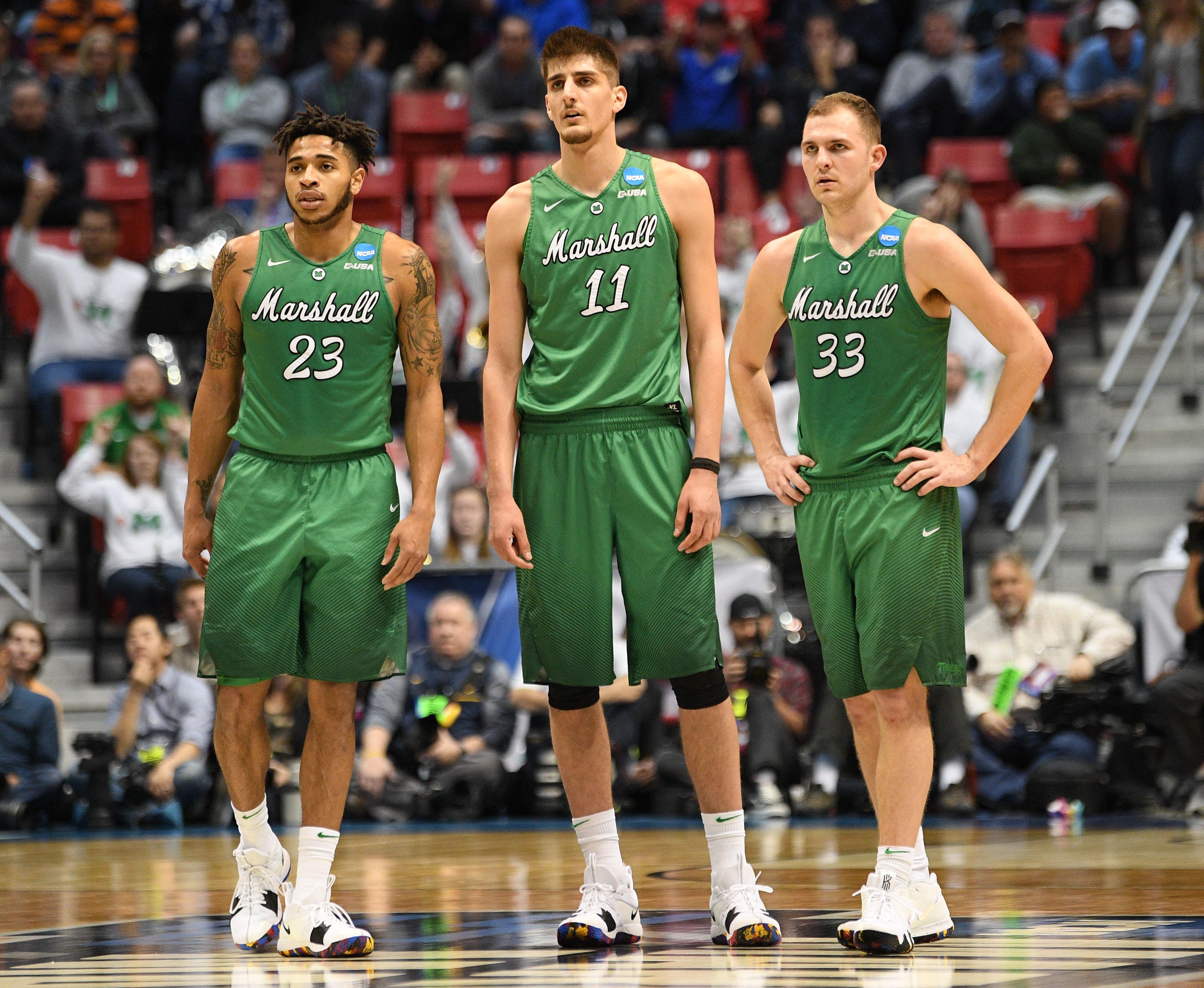 NCAA Basketball: NCAA Tournament-Second Round-West Virginia vs Marshall