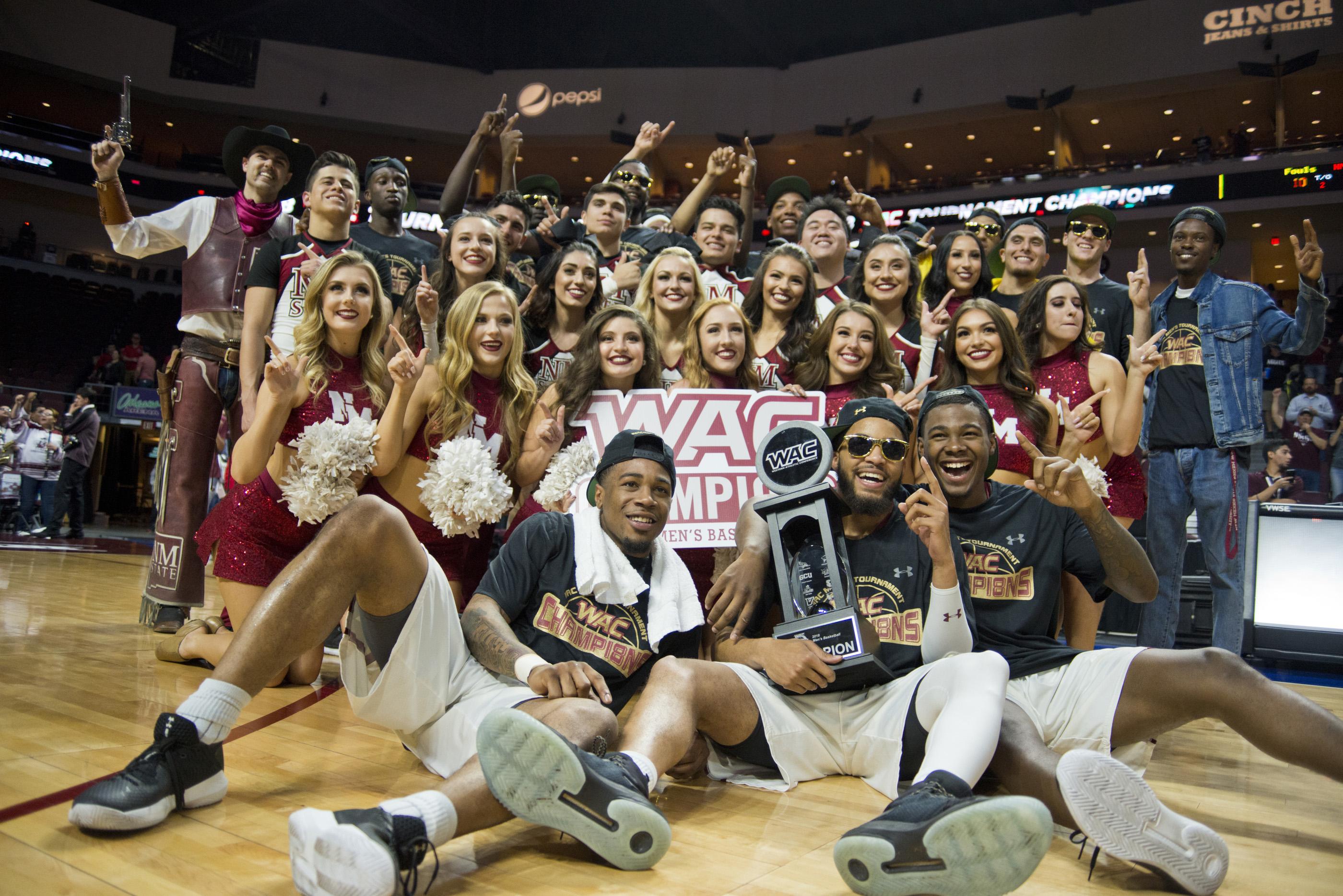 NCAA Basketball: WAC Basketball Championship-Grand Canyon vs New Mexico State