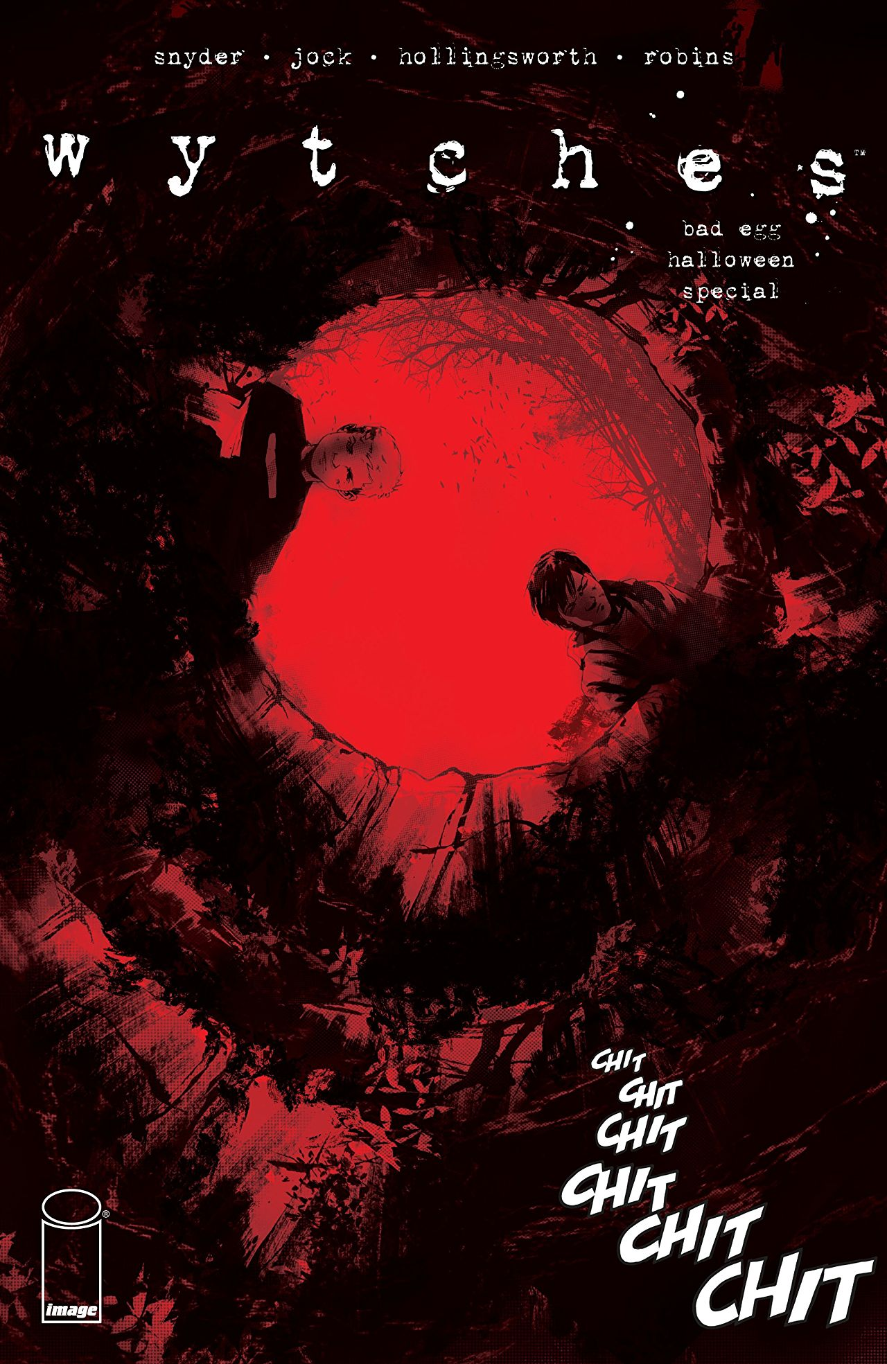 The cover of Wytches: Bad Egg Halloween Special