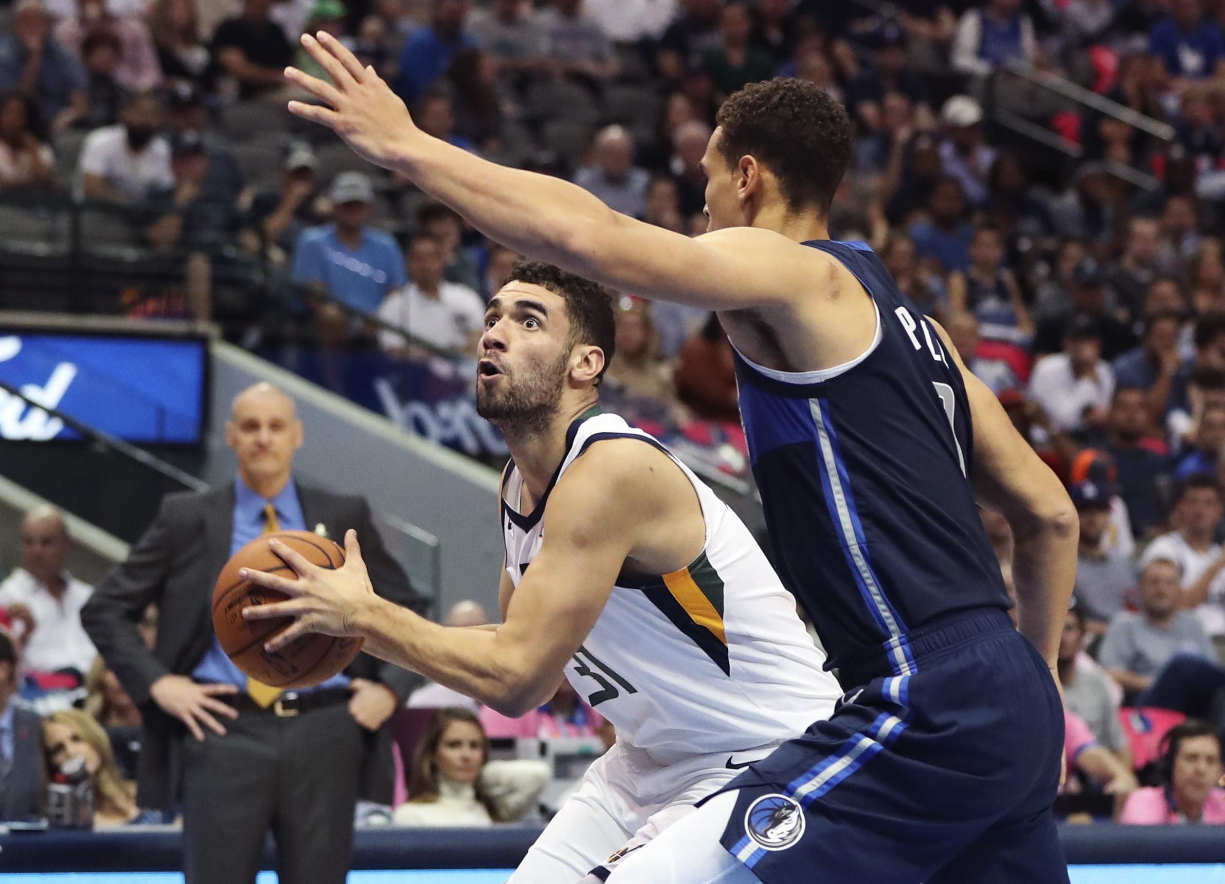 NBA: Utah Jazz at Dallas Mavericks