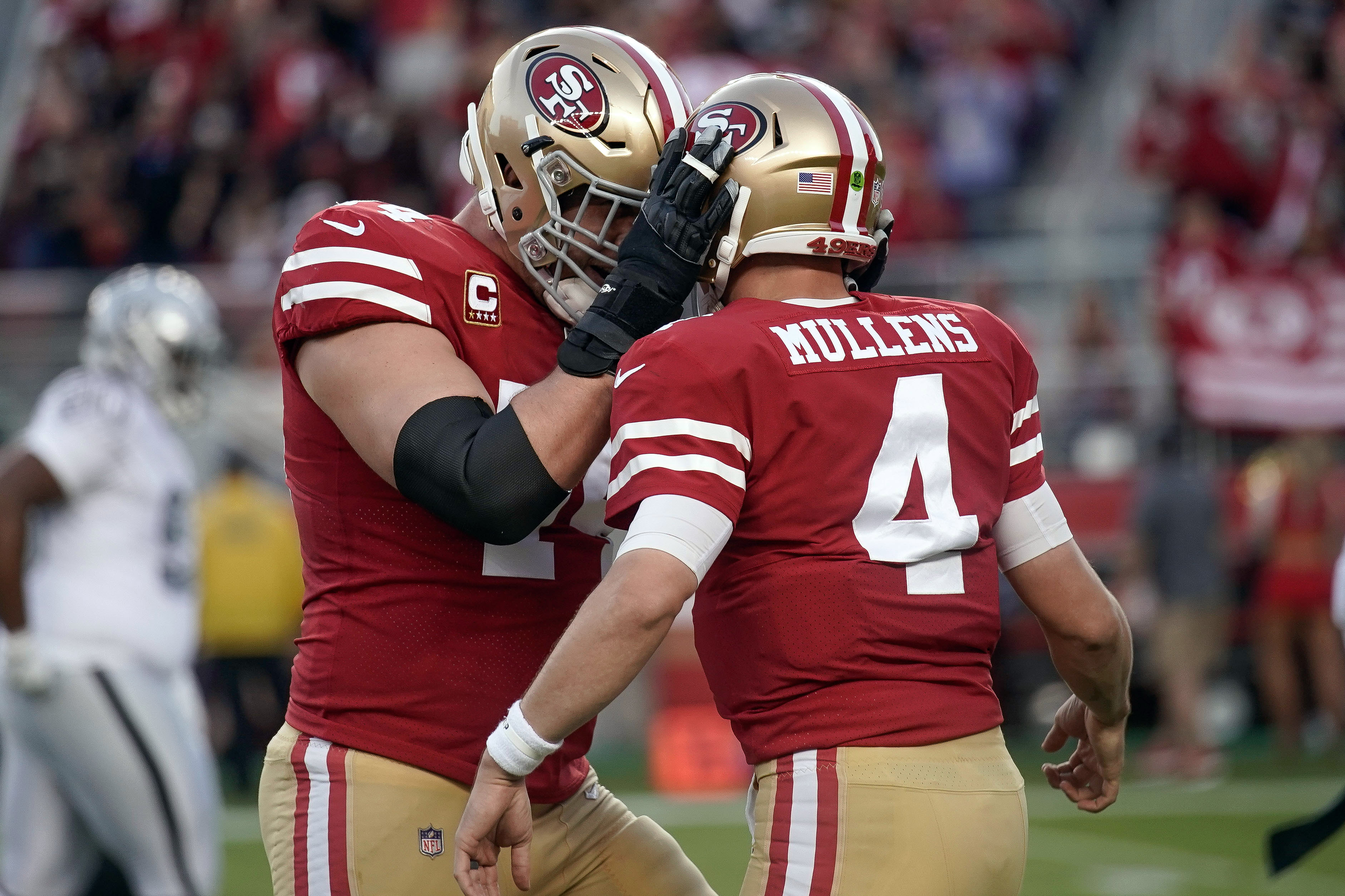 49ers vs Raiders final score  Nick Mullens leads the way in Week 9 beatdown  - Niners Nation d153b339f