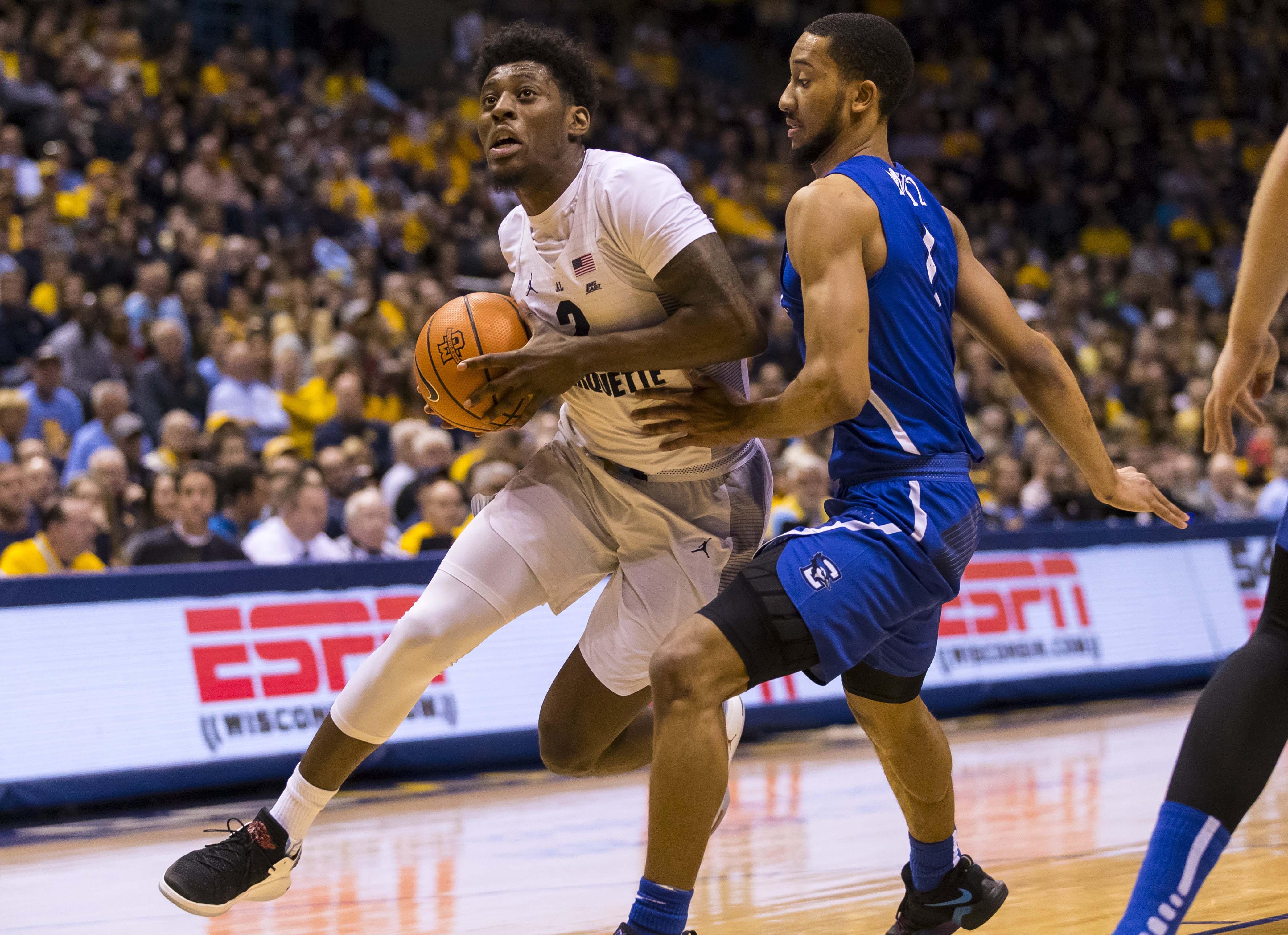 NCAA Basketball: Creighton at Marquette