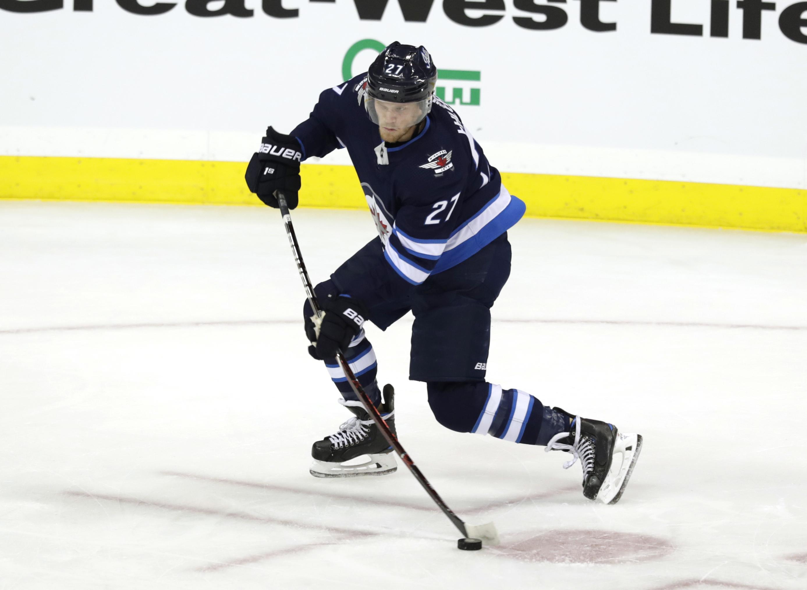 NHL: St. Louis Blues at Winnipeg Jets