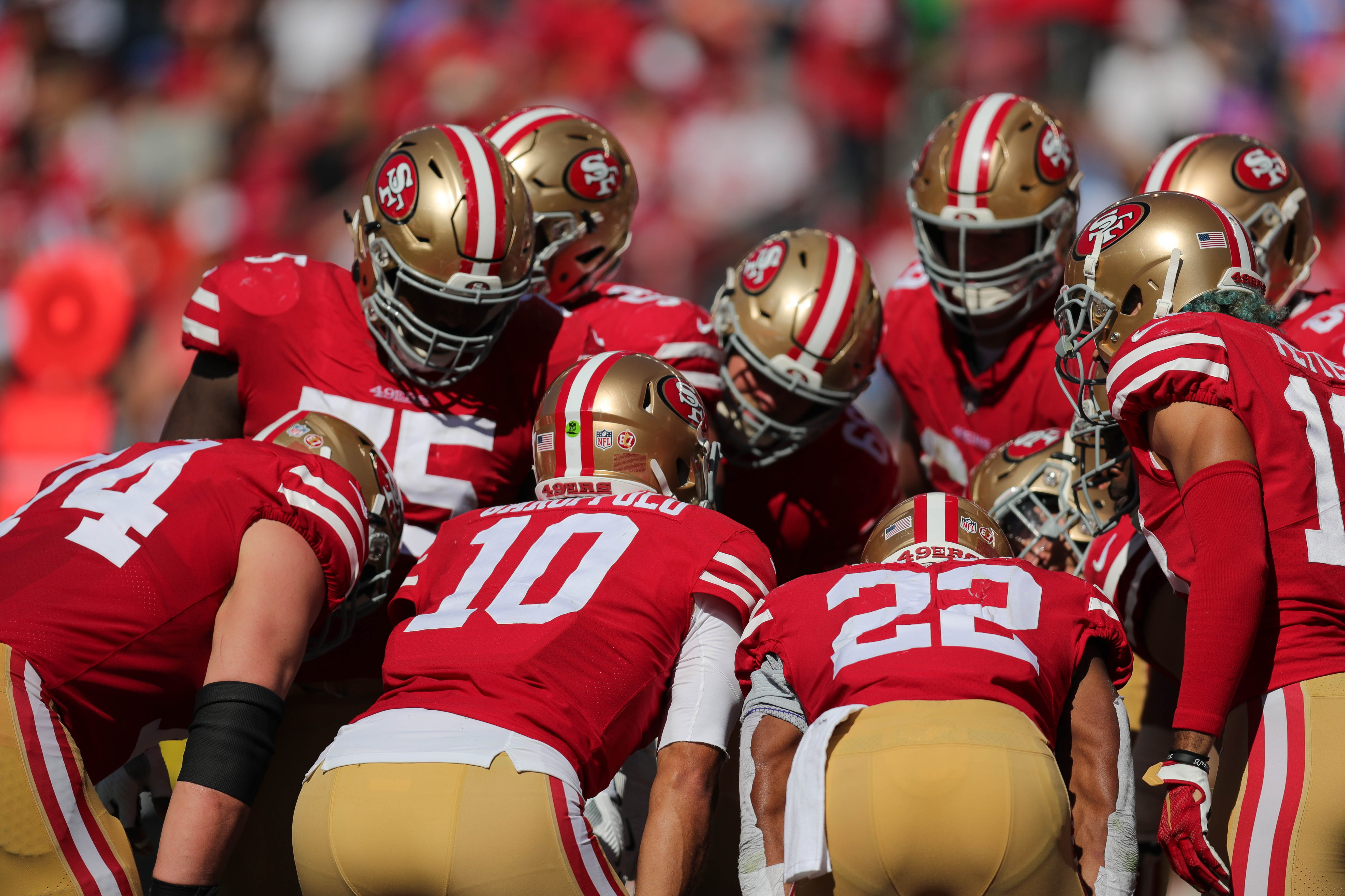 c1b137b04c8 Grading the 49ers offensive players halfway through the 2018 season - Niners  Nation