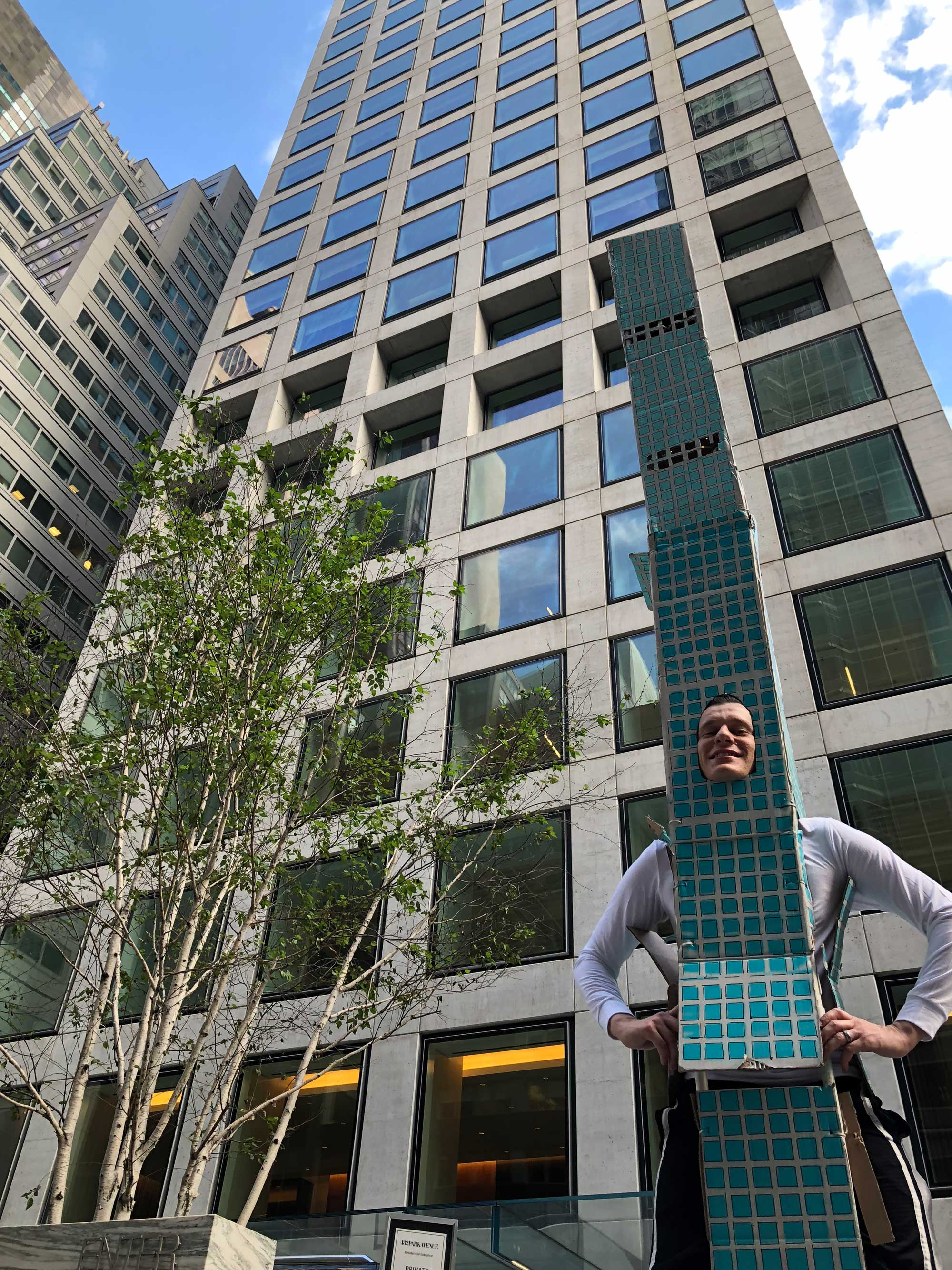 This Guy Dressed As 432 Park Avenue Won