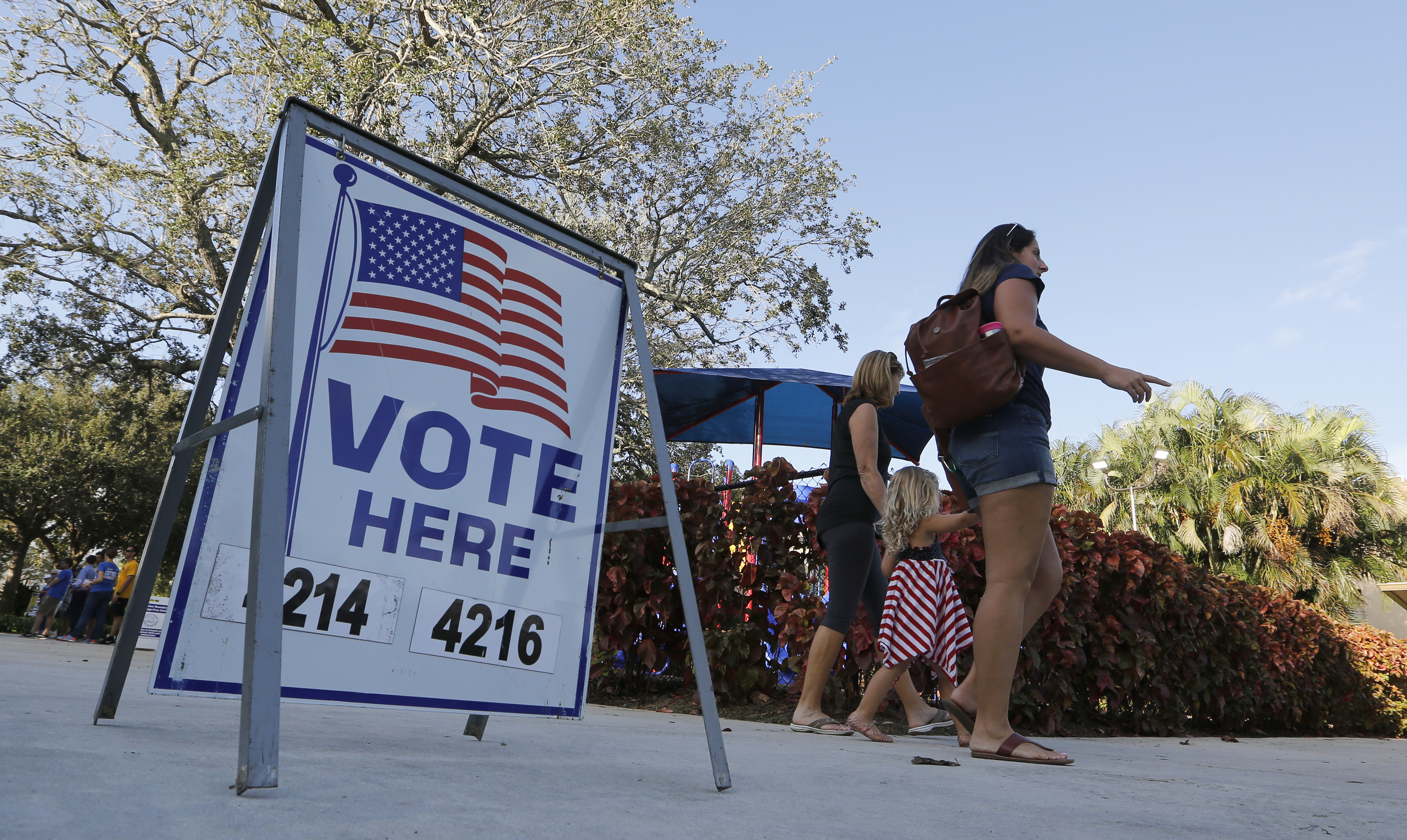 Florida Voters Cast Their Ballots In State's Primary