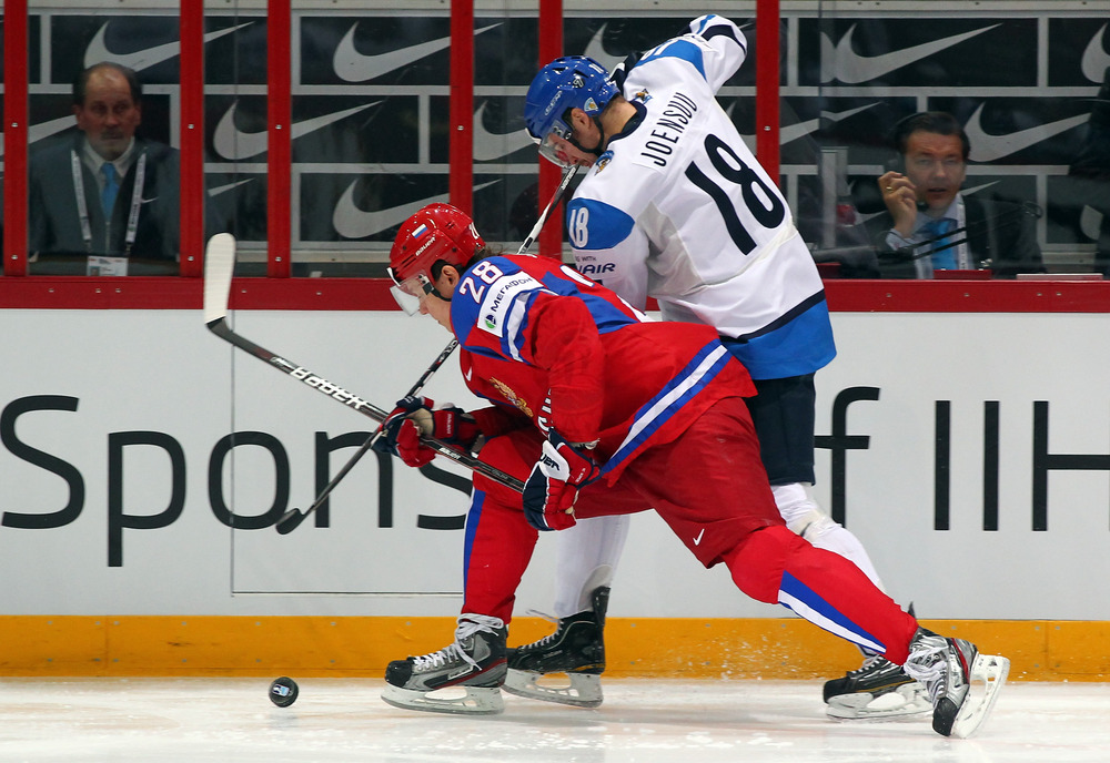 Jesse Joensuu was one of a handful of players injured in Europe during the lockout