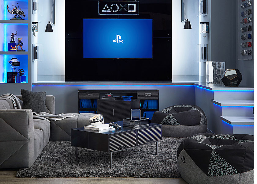 Pottery Barn's PlayStation furniture is the new high-end gamer-chic