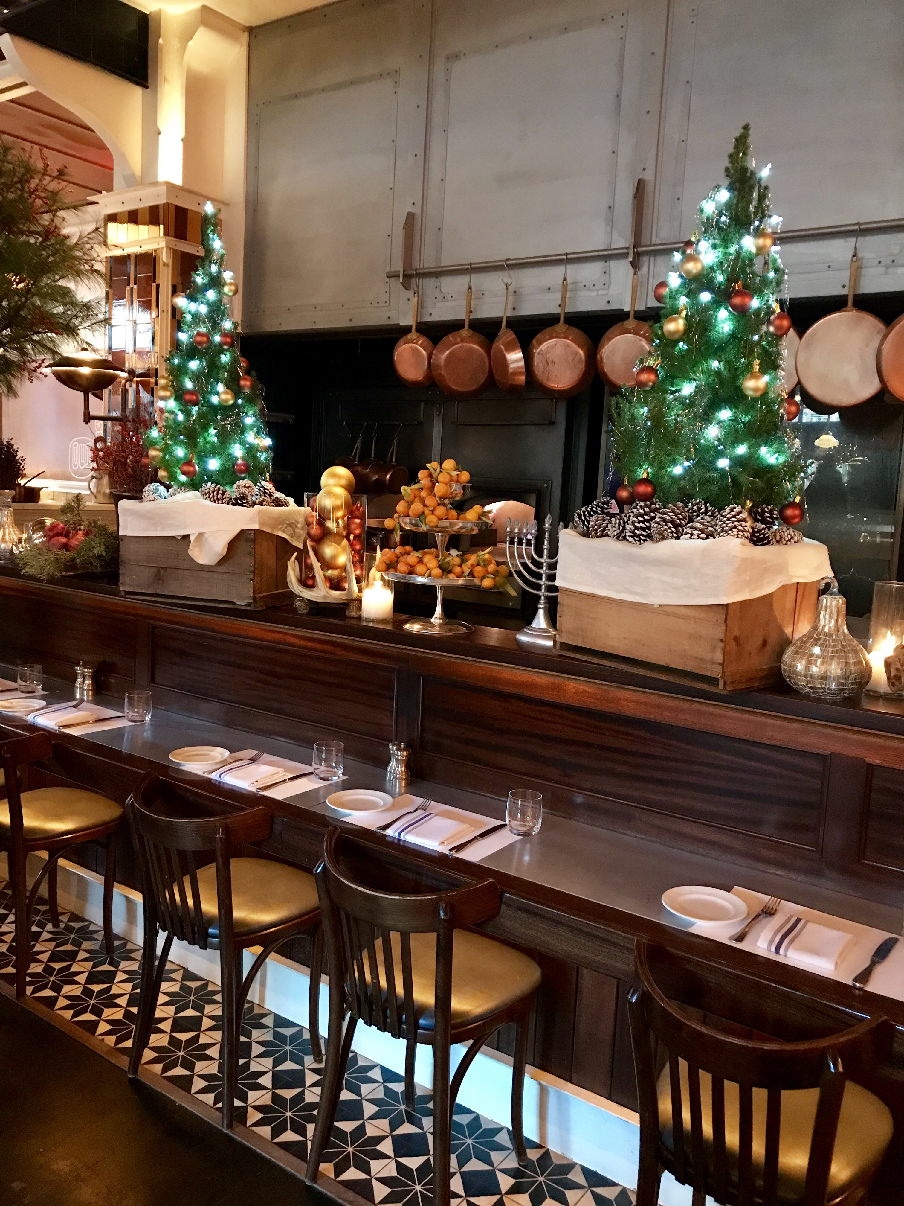 18 NYC Restaurants Decked Out for the Holidays