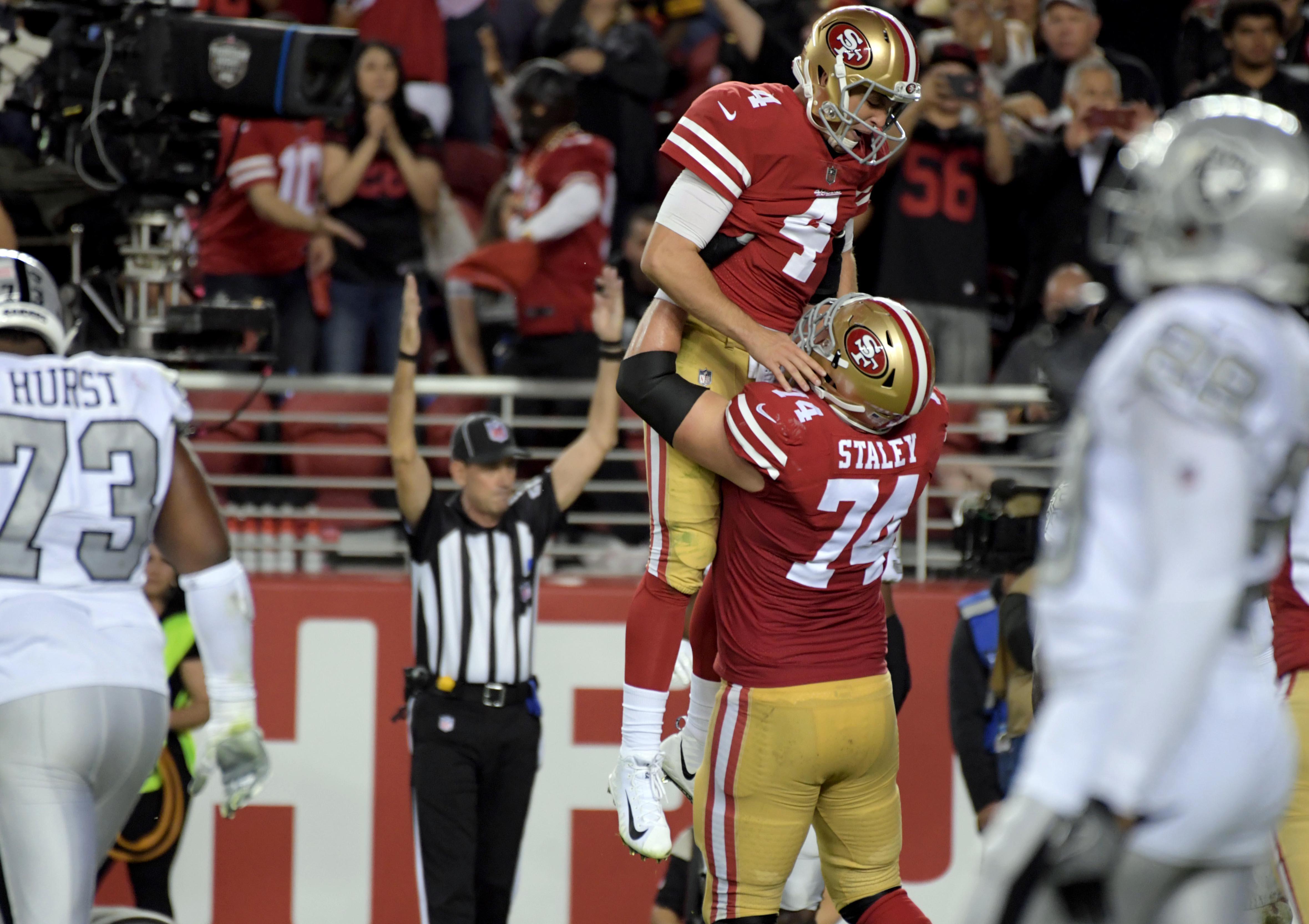 NFL: Oakland Raiders at San Francisco 49ers