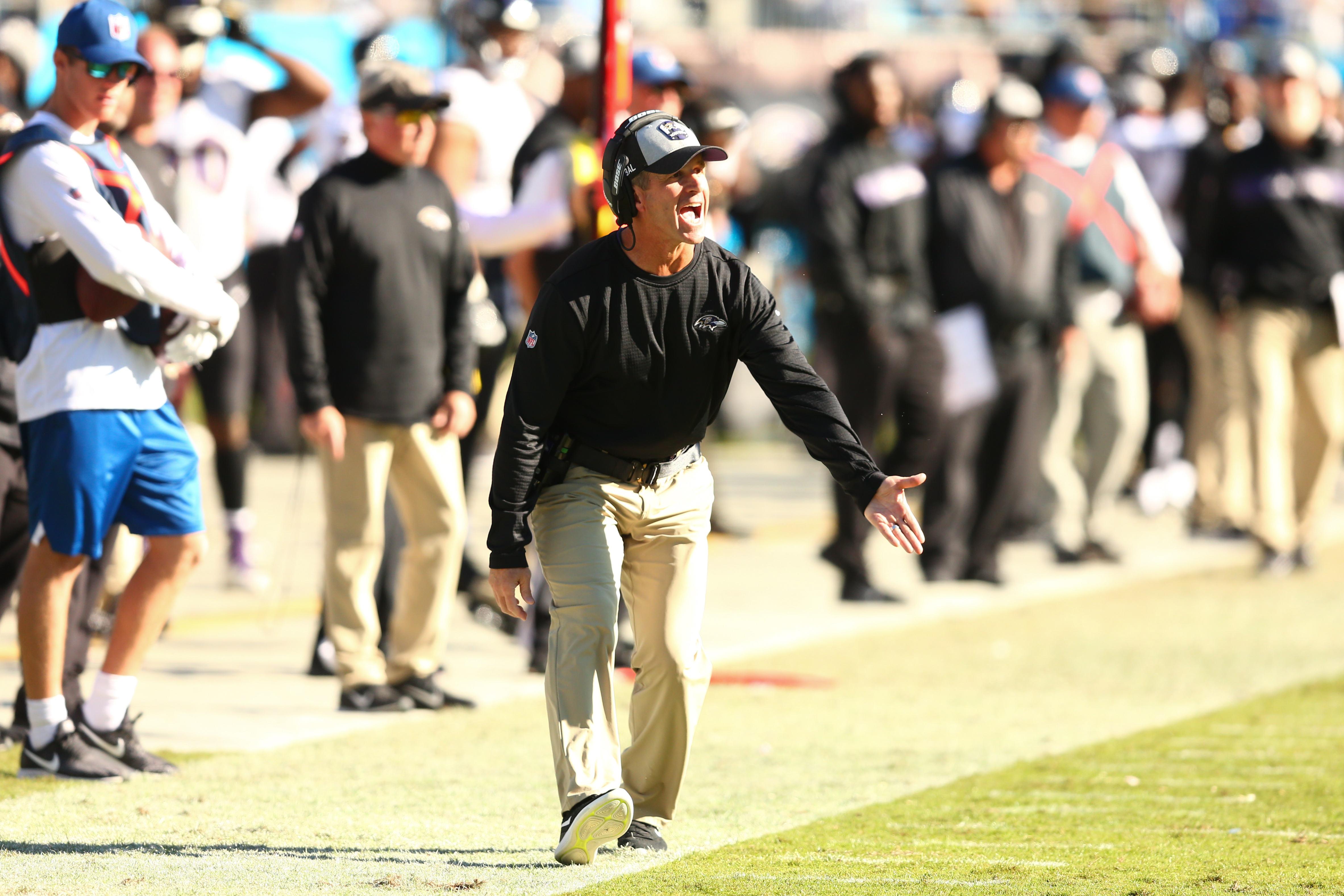 NFL: Baltimore Ravens at Carolina Panthers